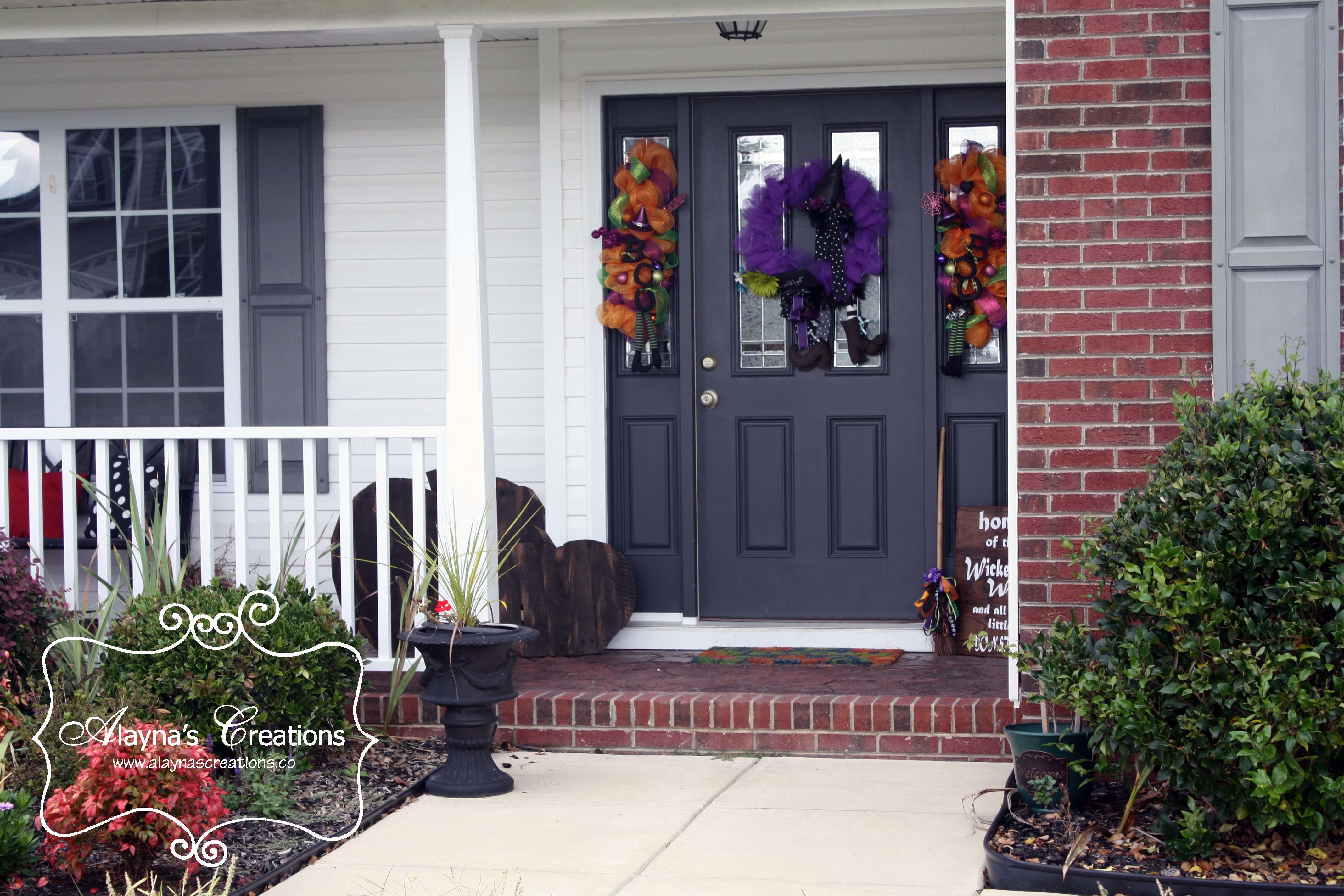 Take Your Fall Front Porch Halloween