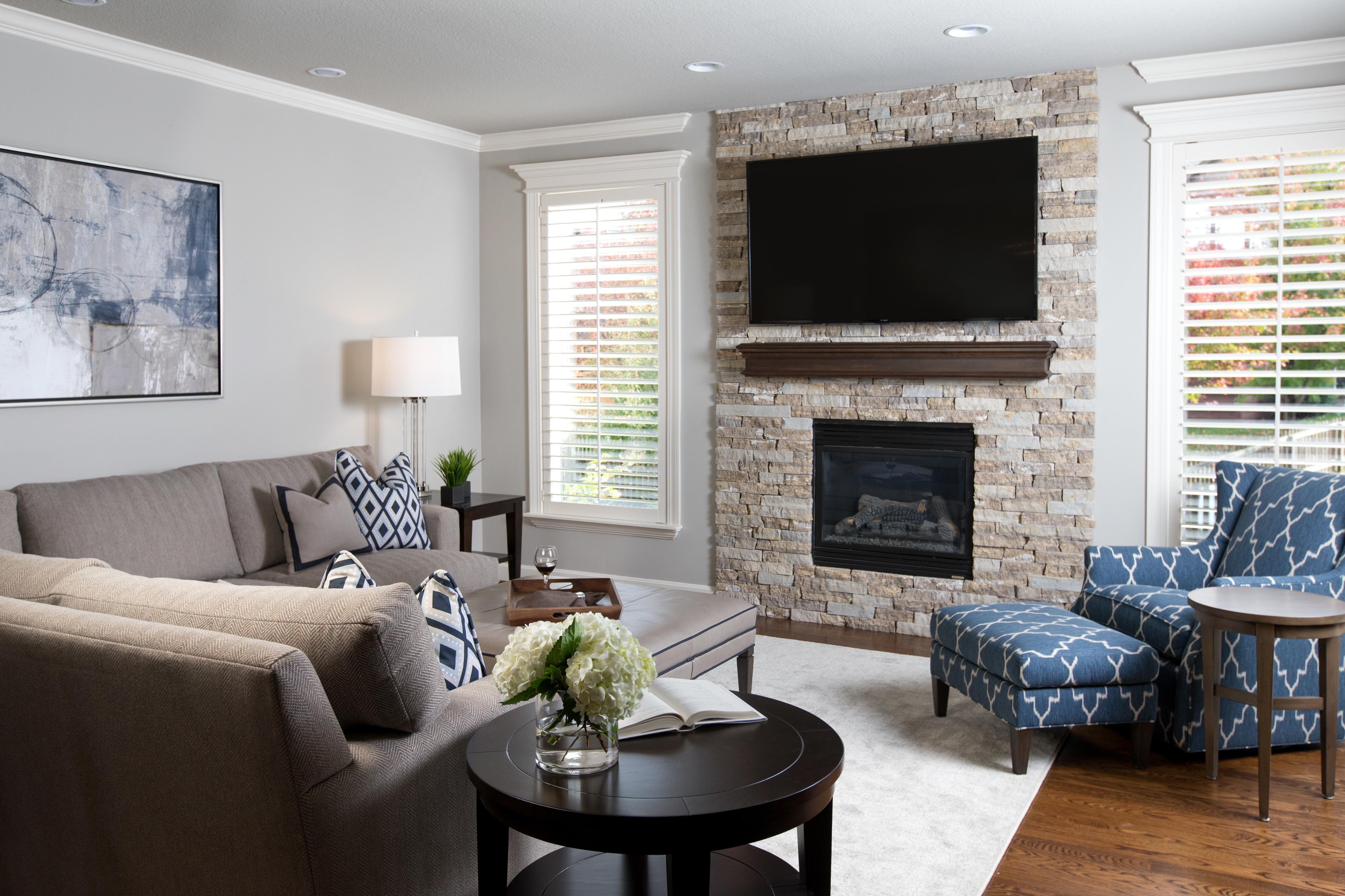 Tale Two Fireplaces Design Connection Inc