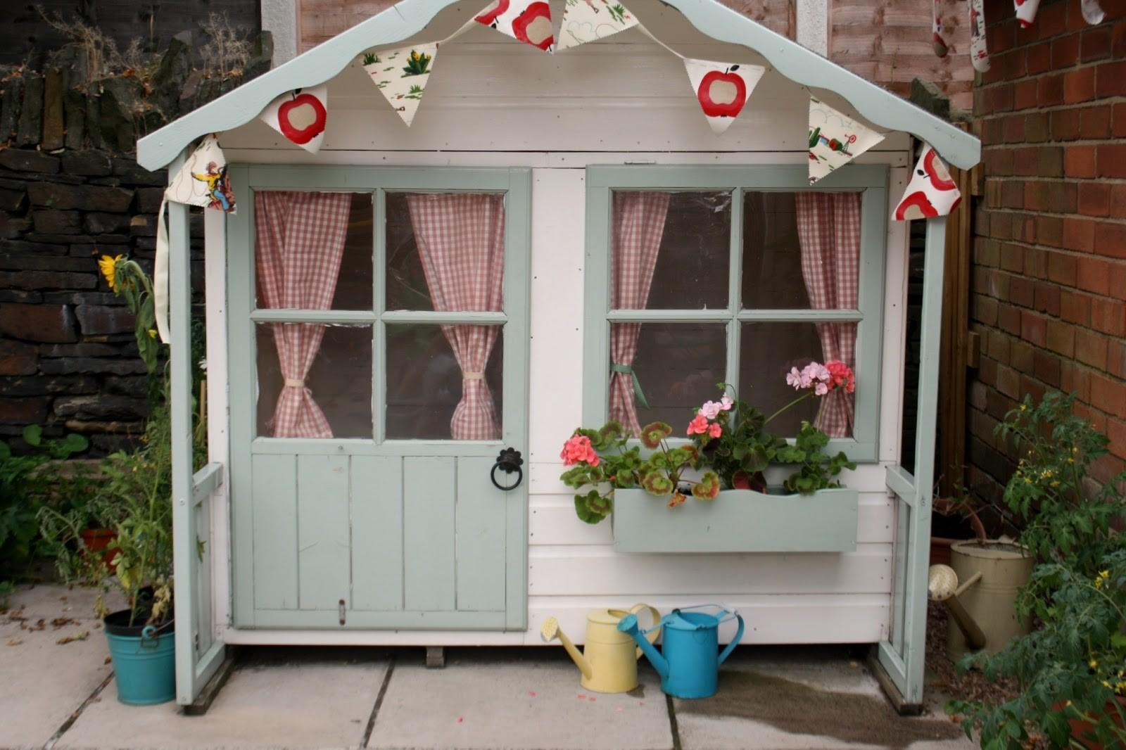 Tales Happy House Garden Playhouse Makeover