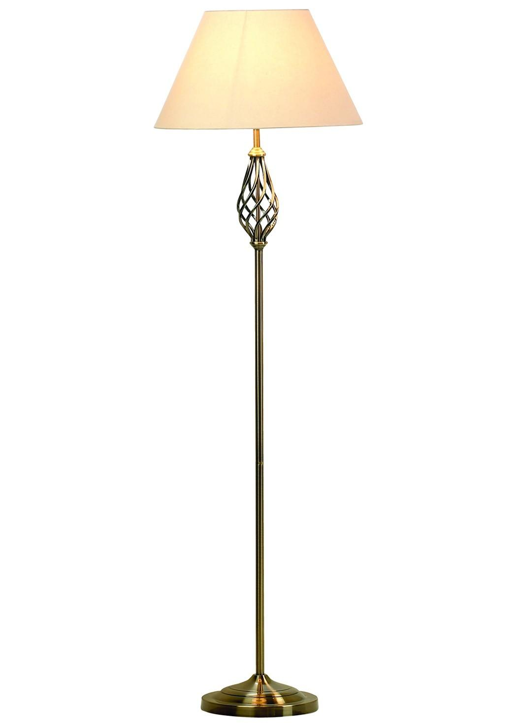Tall Candlestick Floor Lamp Brass Stand Base Plus