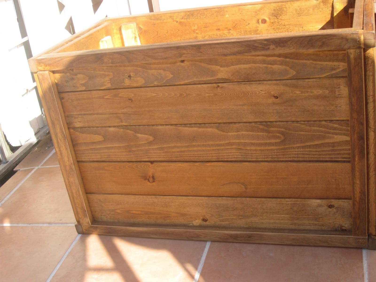 Tall Large Rustic Herb Planter Box Using Recycled Wood