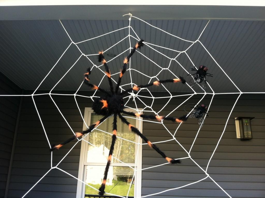 Tangled Web Make Your Own Halloween Spider