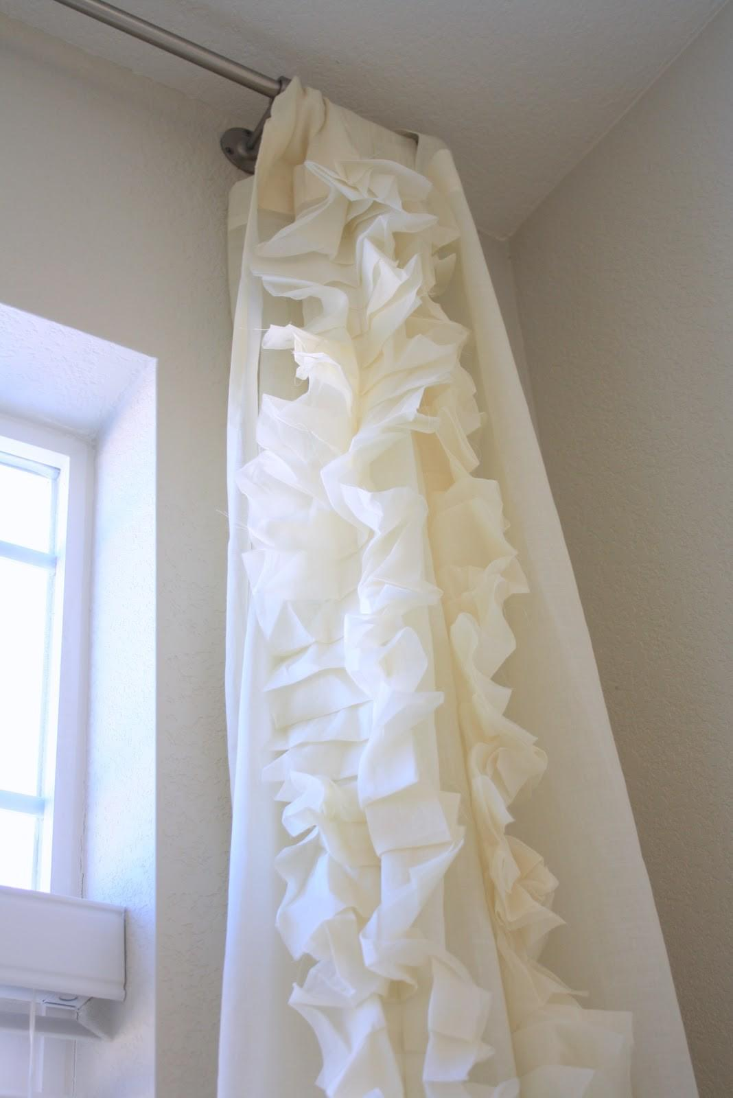 Tanner Projects Diy Ruffle Curtains