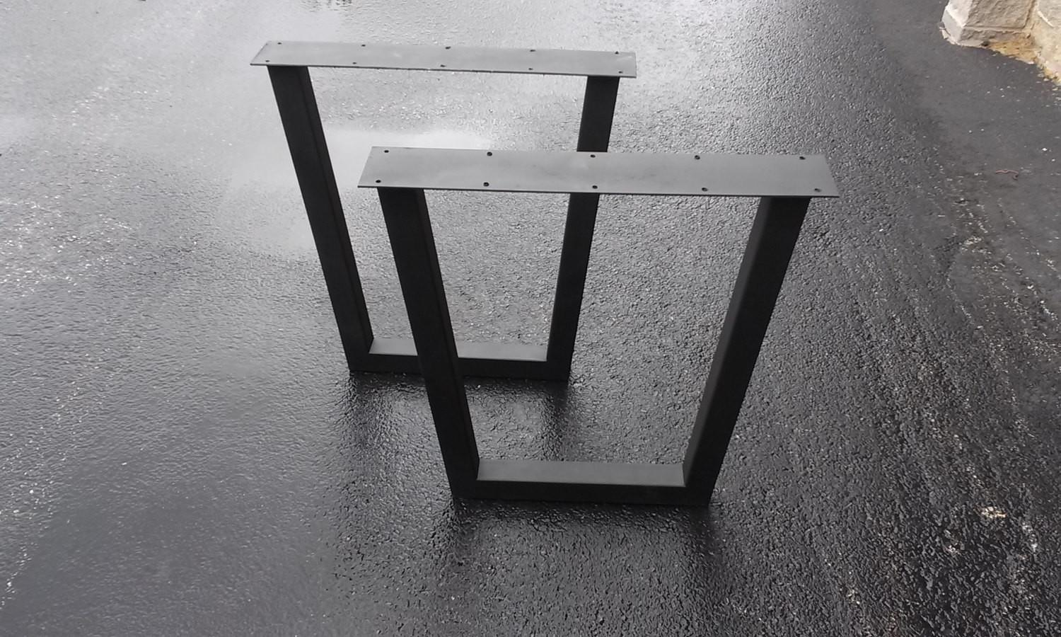 Tapered Metal Table Legs Diy Furniture Frame Any