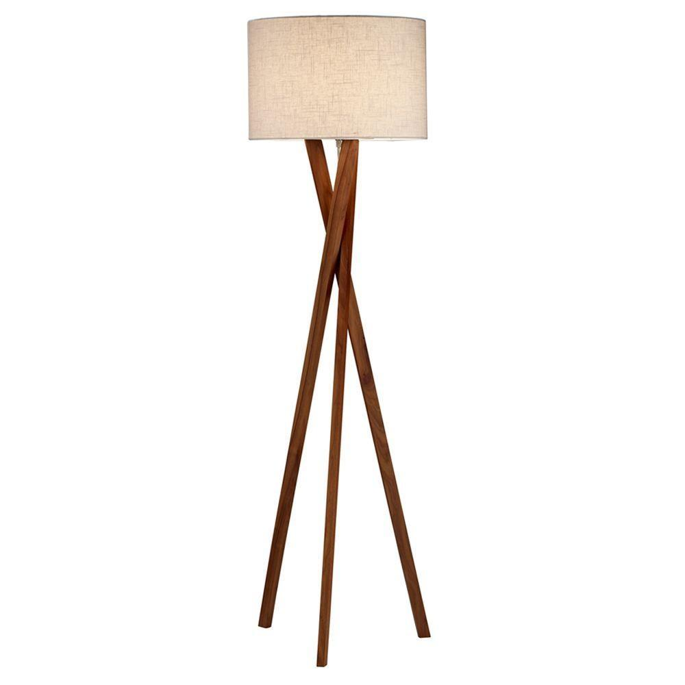 Target Floor Lamp Living Room Beach Style Wood