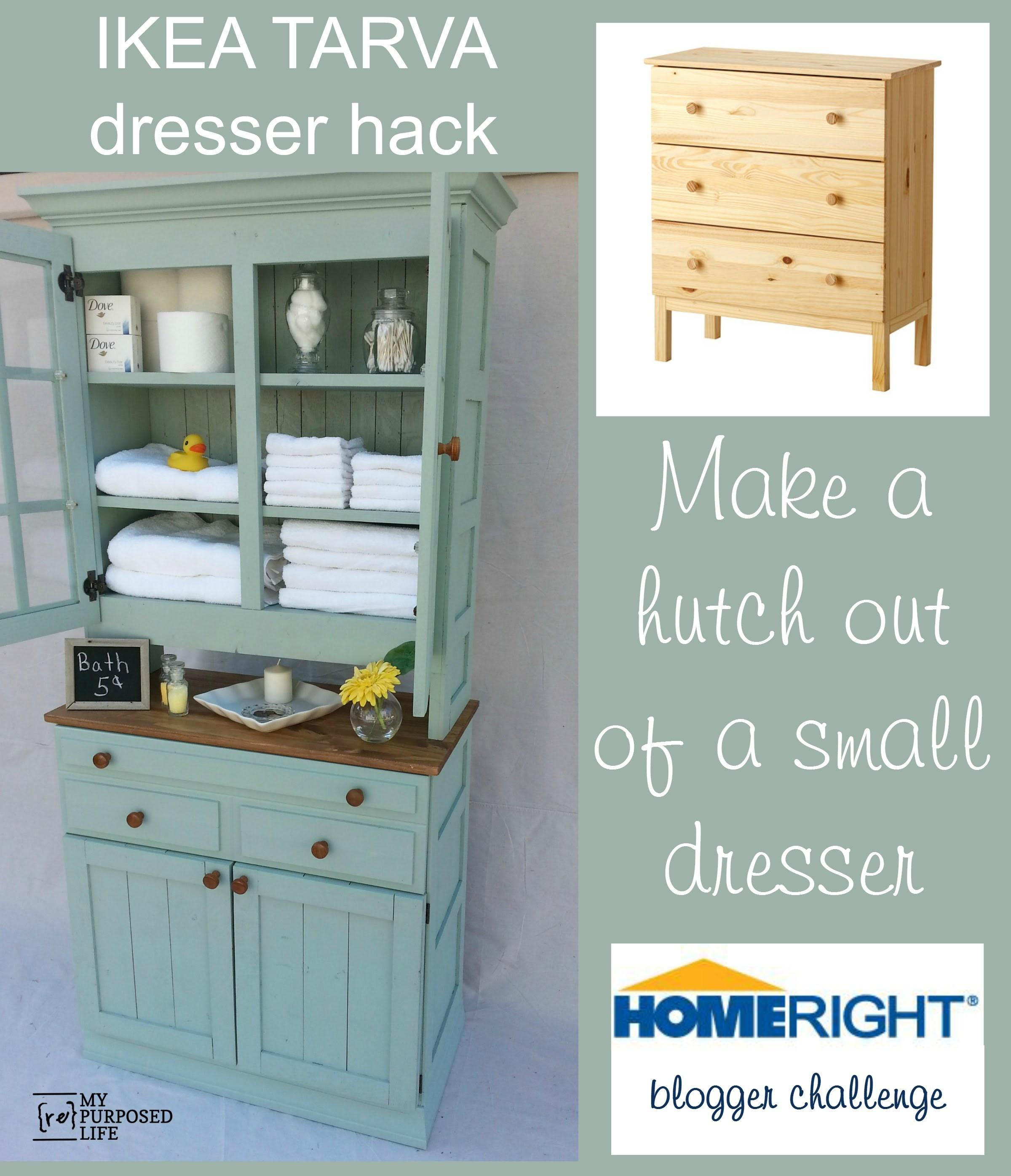 Tarva Dresser Hack Storage Cupboard