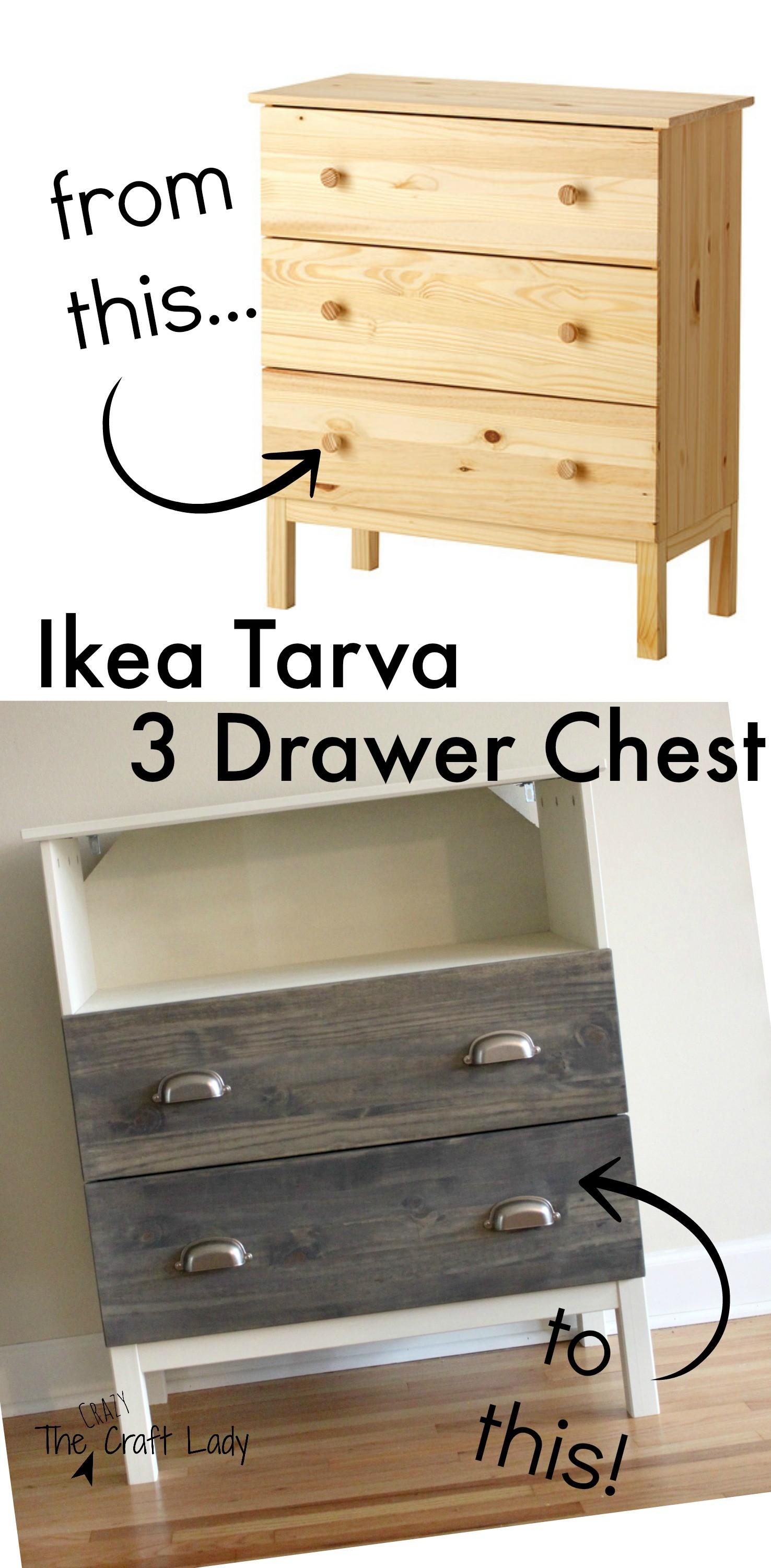 Tarva Dresser Turned Stand Crazy Craft Lady