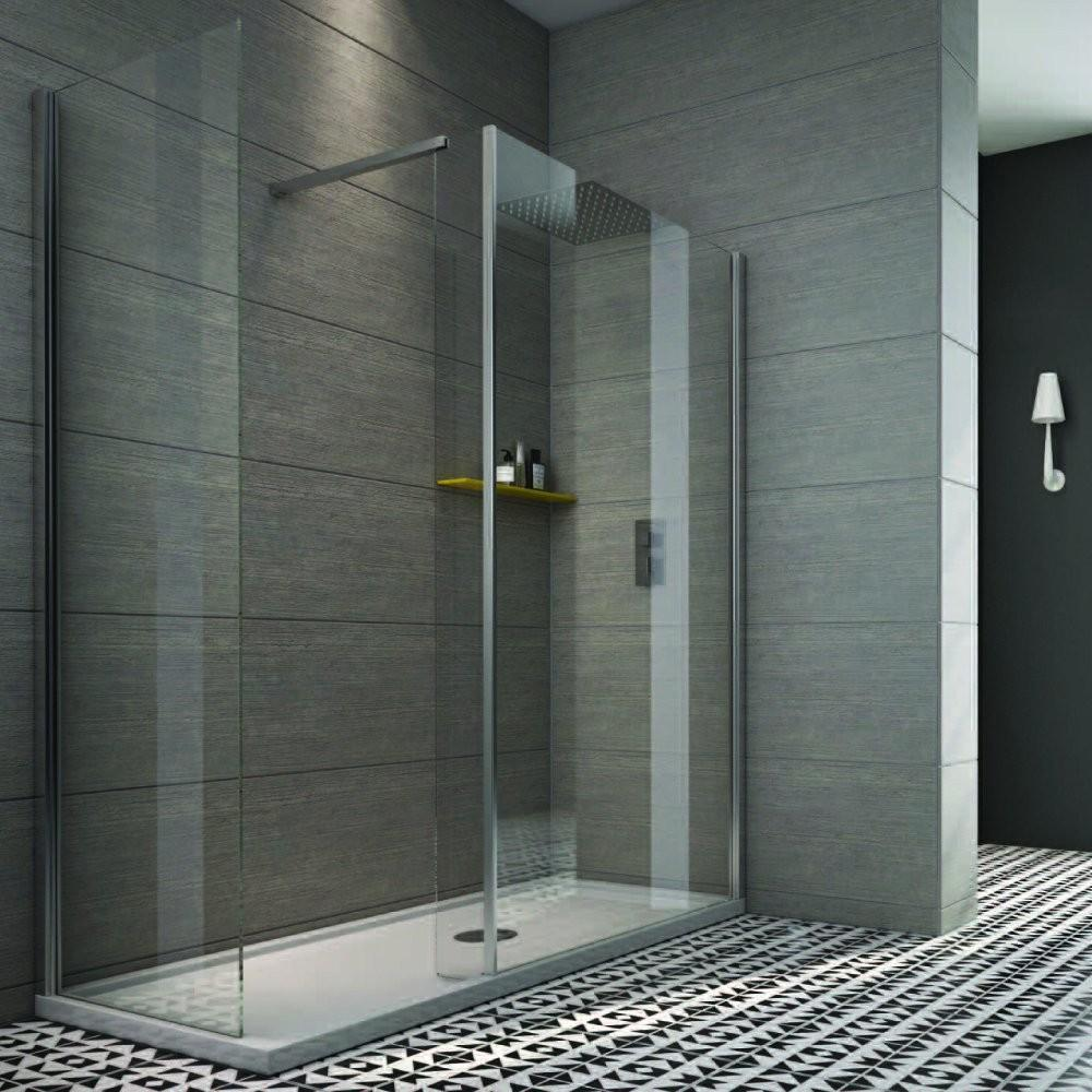 Tate Collection Indi 1700 750mm Walk Shower Enclosure