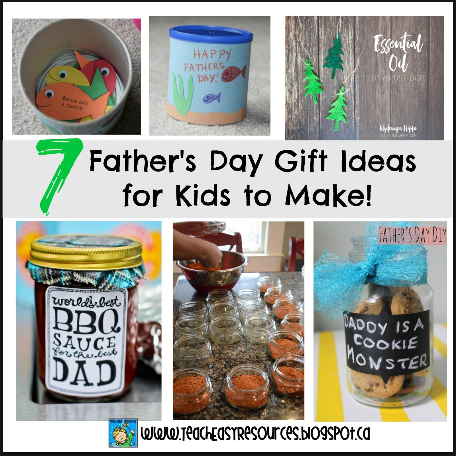 Teach Easy Resources Father Day Gift Ideas Kids