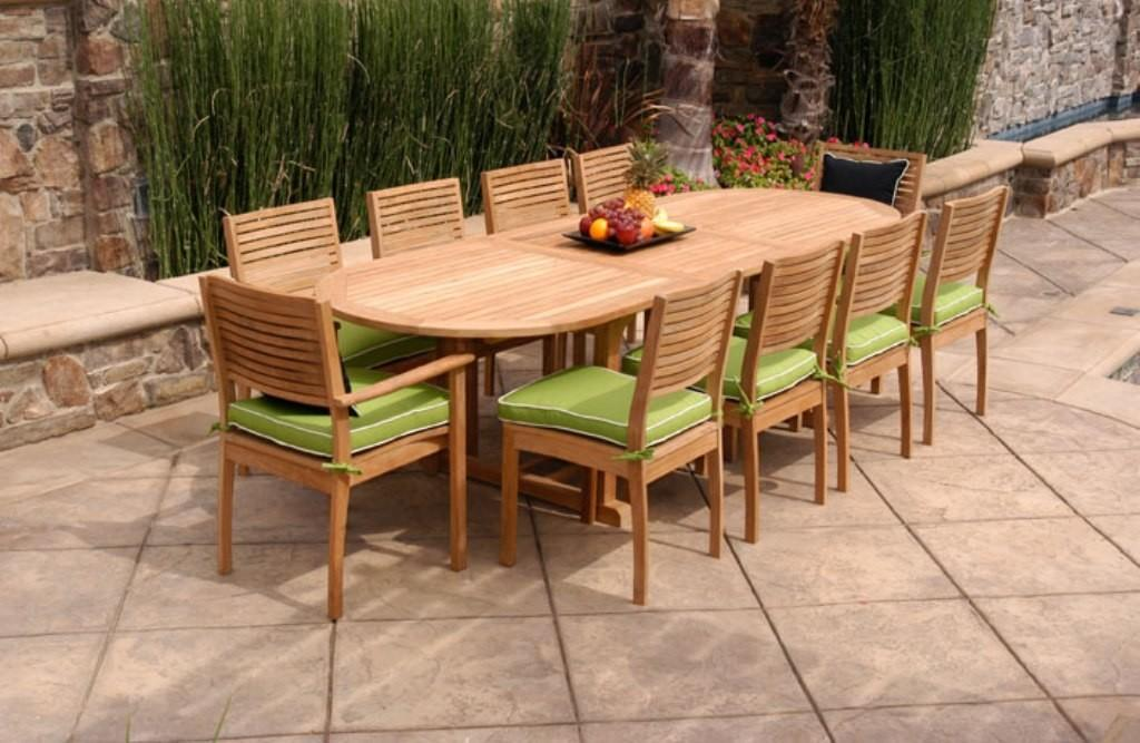 Teak Outdoor Dining Table Style