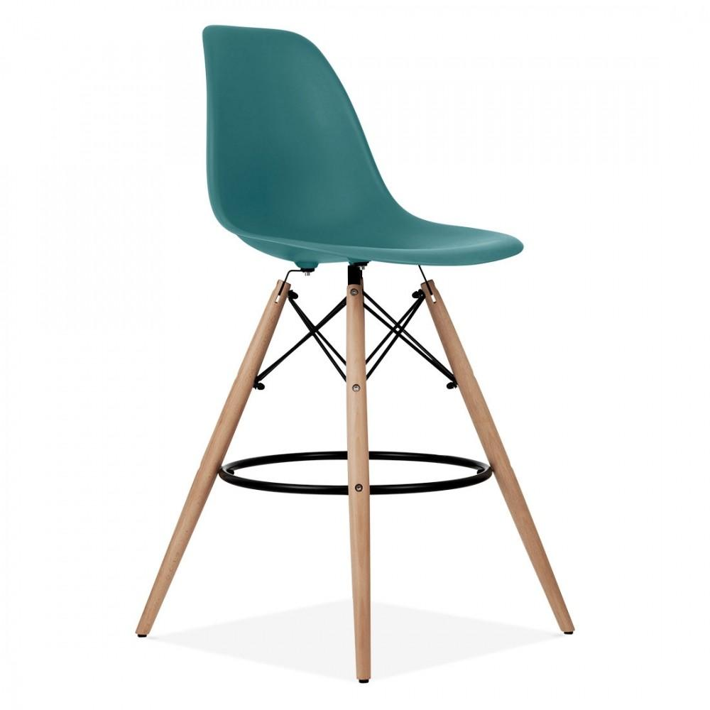 Teal Charles Eames Style Dsw Stool Kitchen Bar Stools
