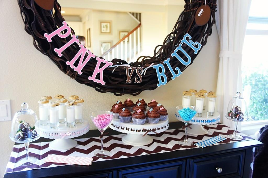 Team Pink Blue Gender Reveal Party Project Nursery