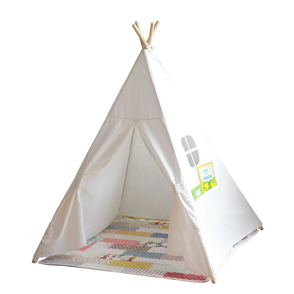 Teepee Kids Diy Play Children House Toy Tent Indian