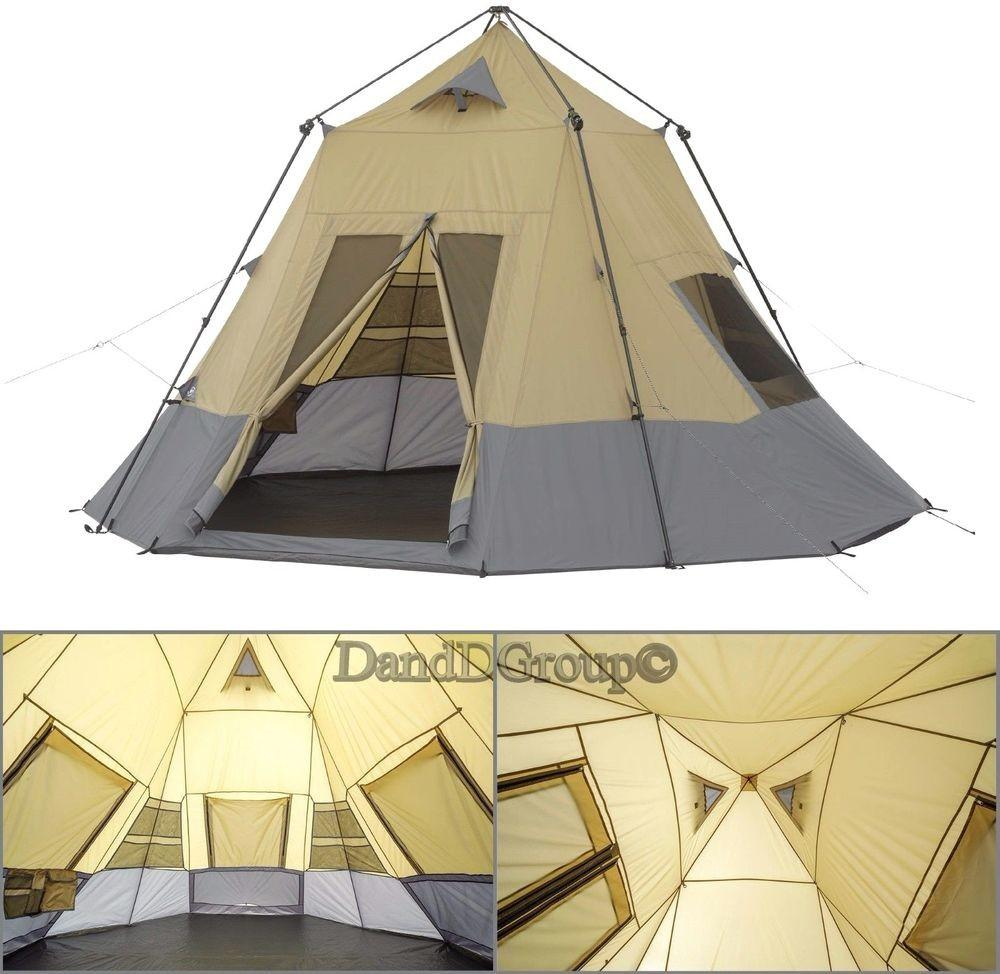 Teepee Tent Family Person Camping Outdoor Guide