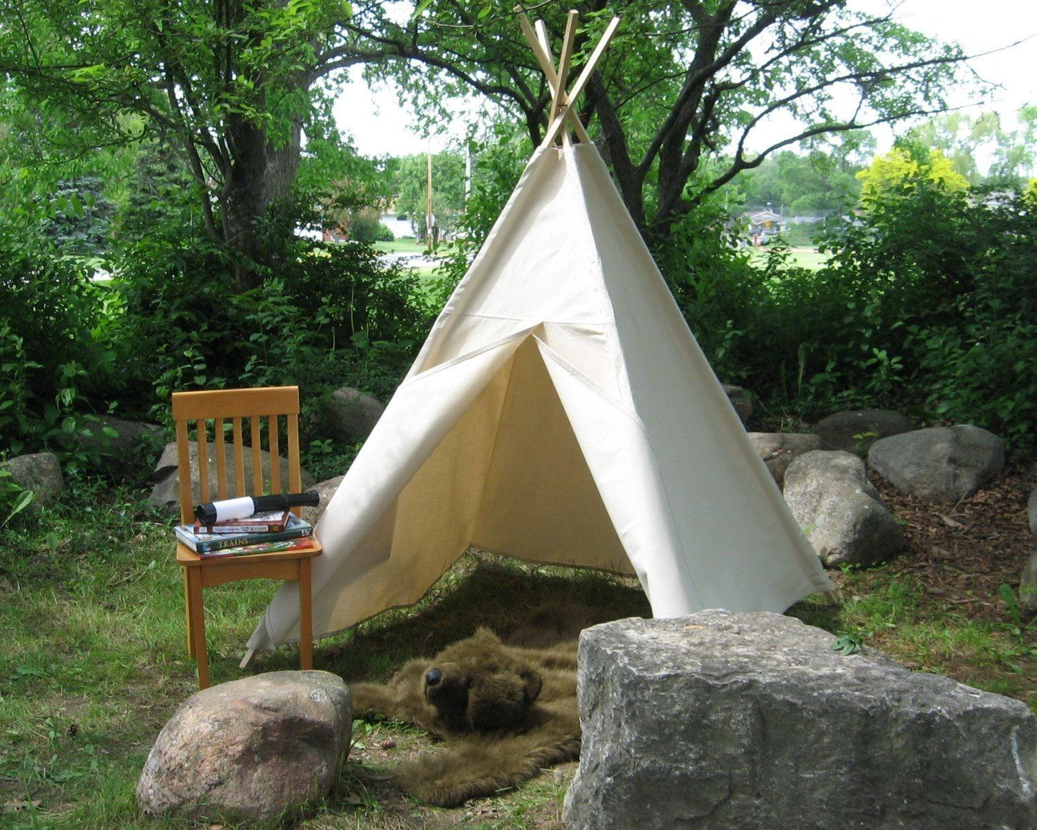 Teepee Tents Kids Easy Forts