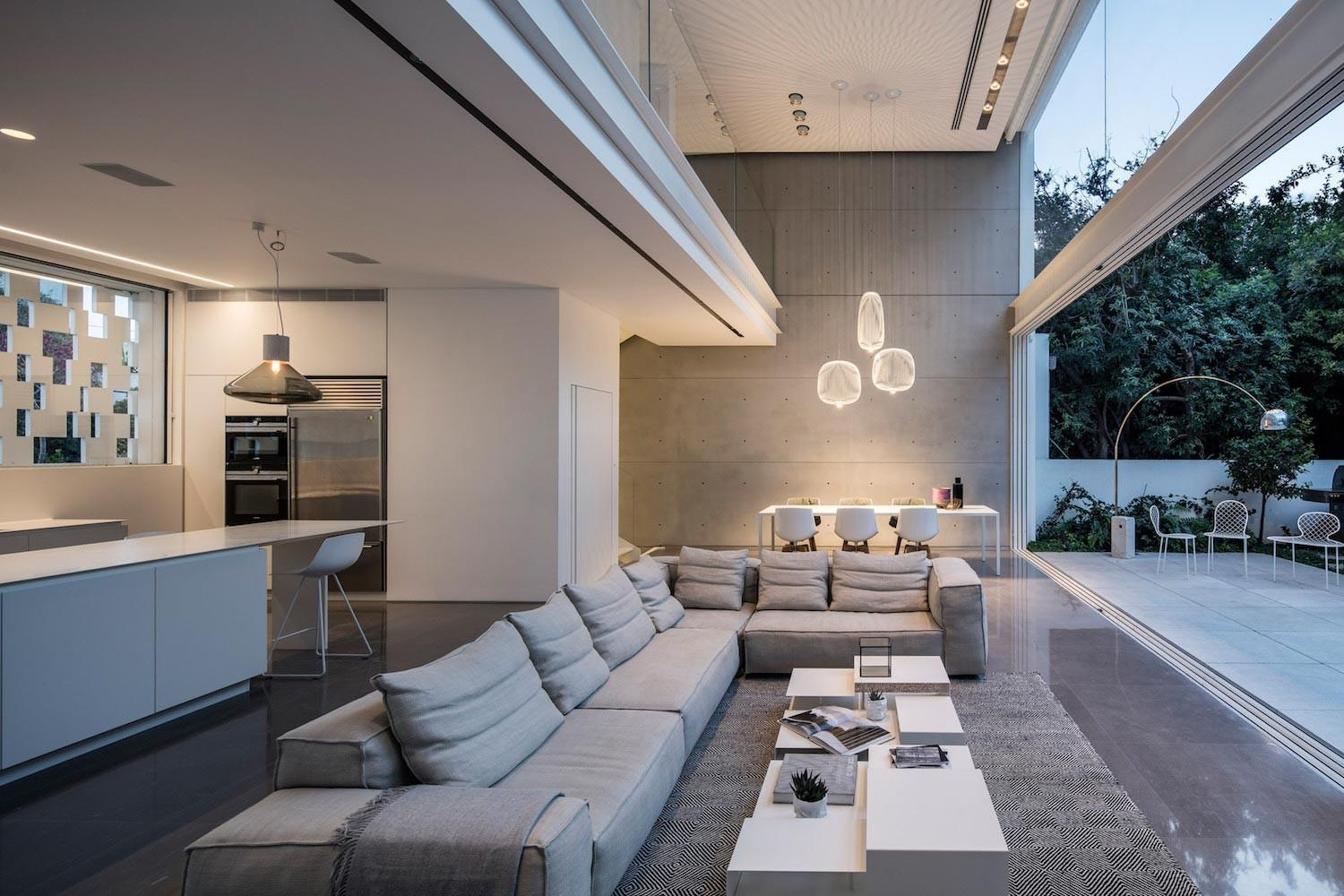Tel Aviv Contemporary Home Awesome Open Space
