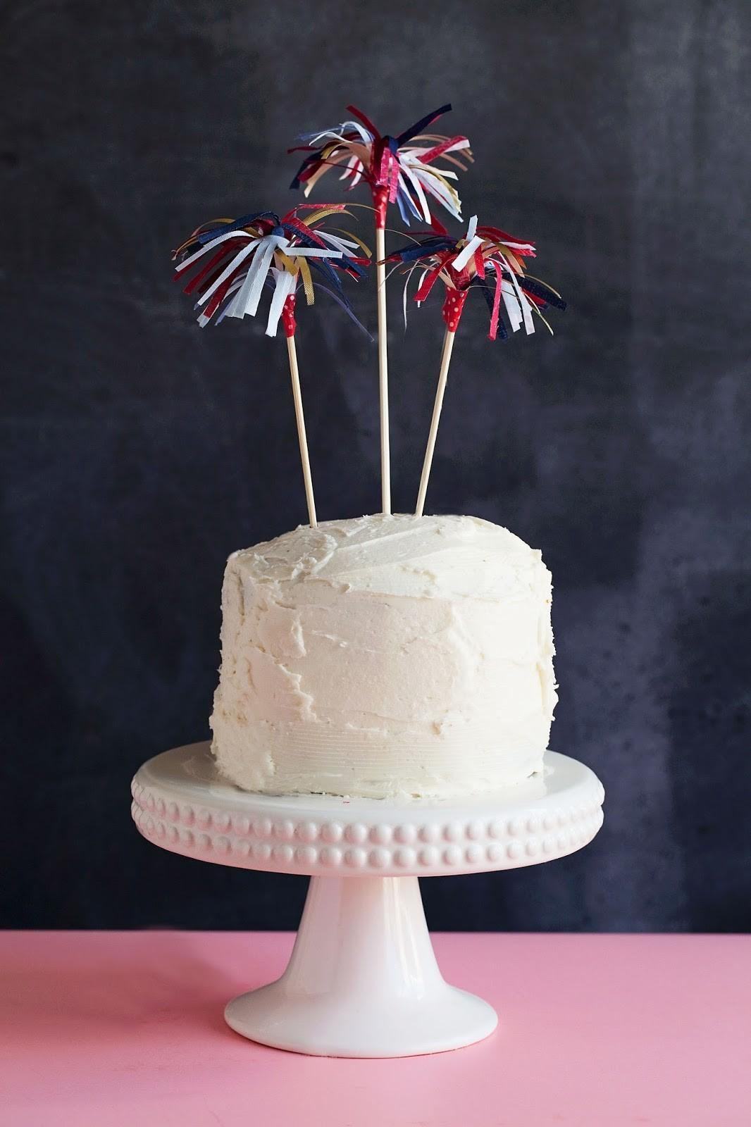 Tell Diy 4th July Cake Toppers Love Party
