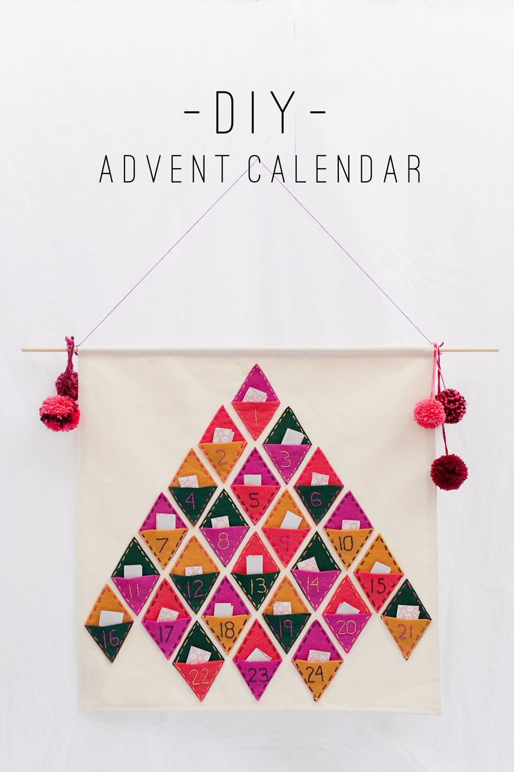 Tell Diy Advent Calendar Love Party