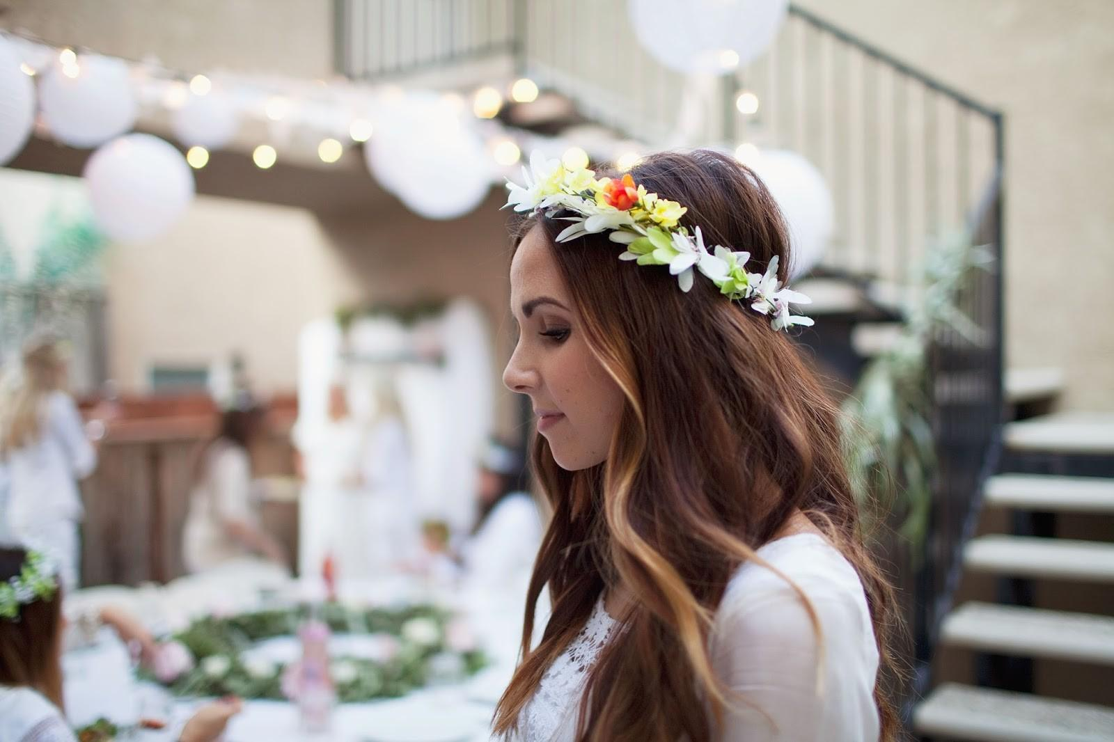 Tell Diy Summer Floral Crown Love Party