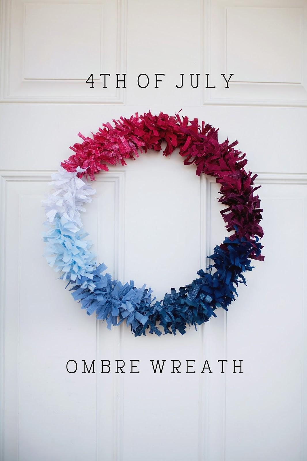 Tell Fourth July Wreath Love Party