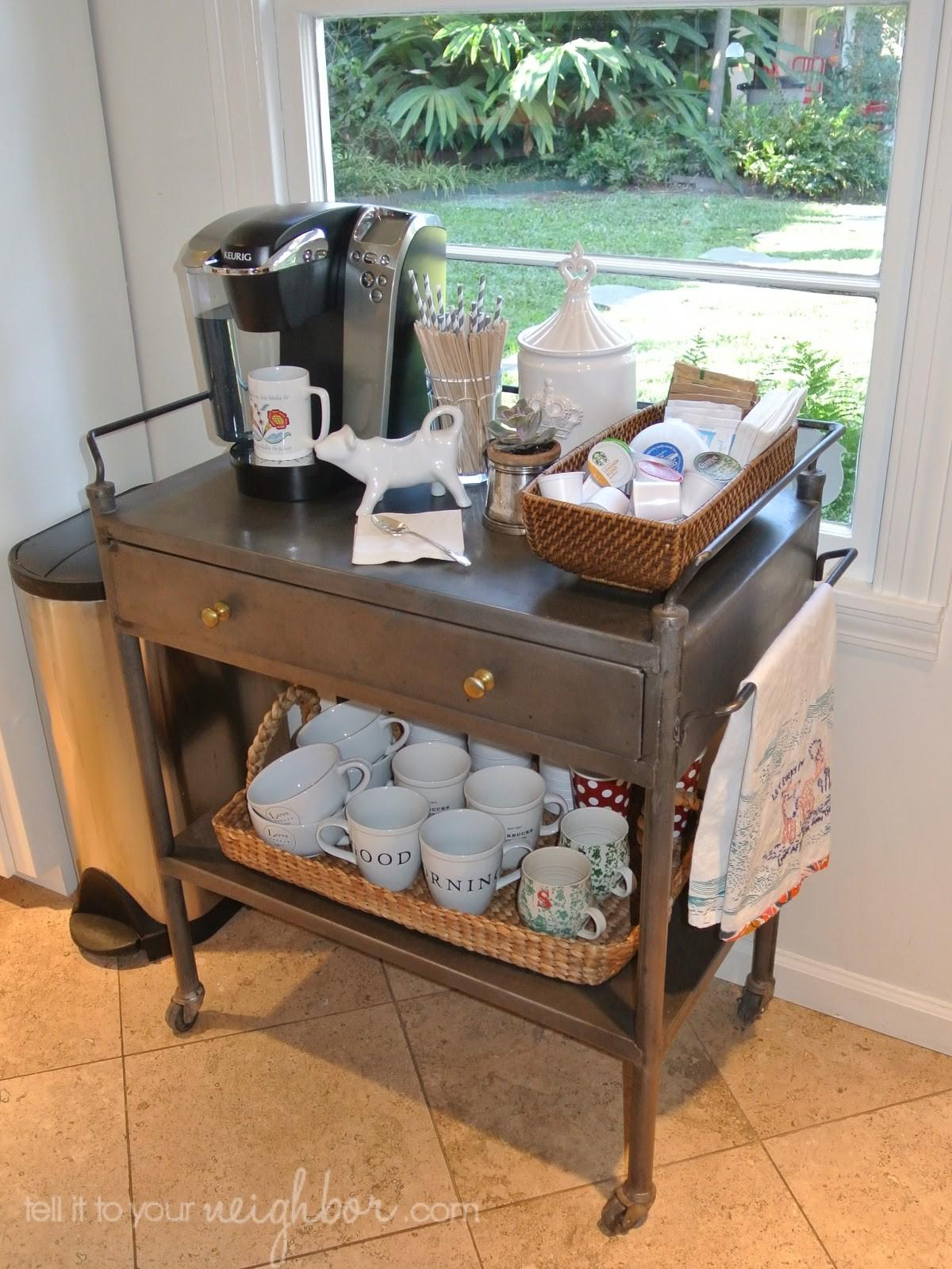 Tell Your Neighbor Coffee Cart Home