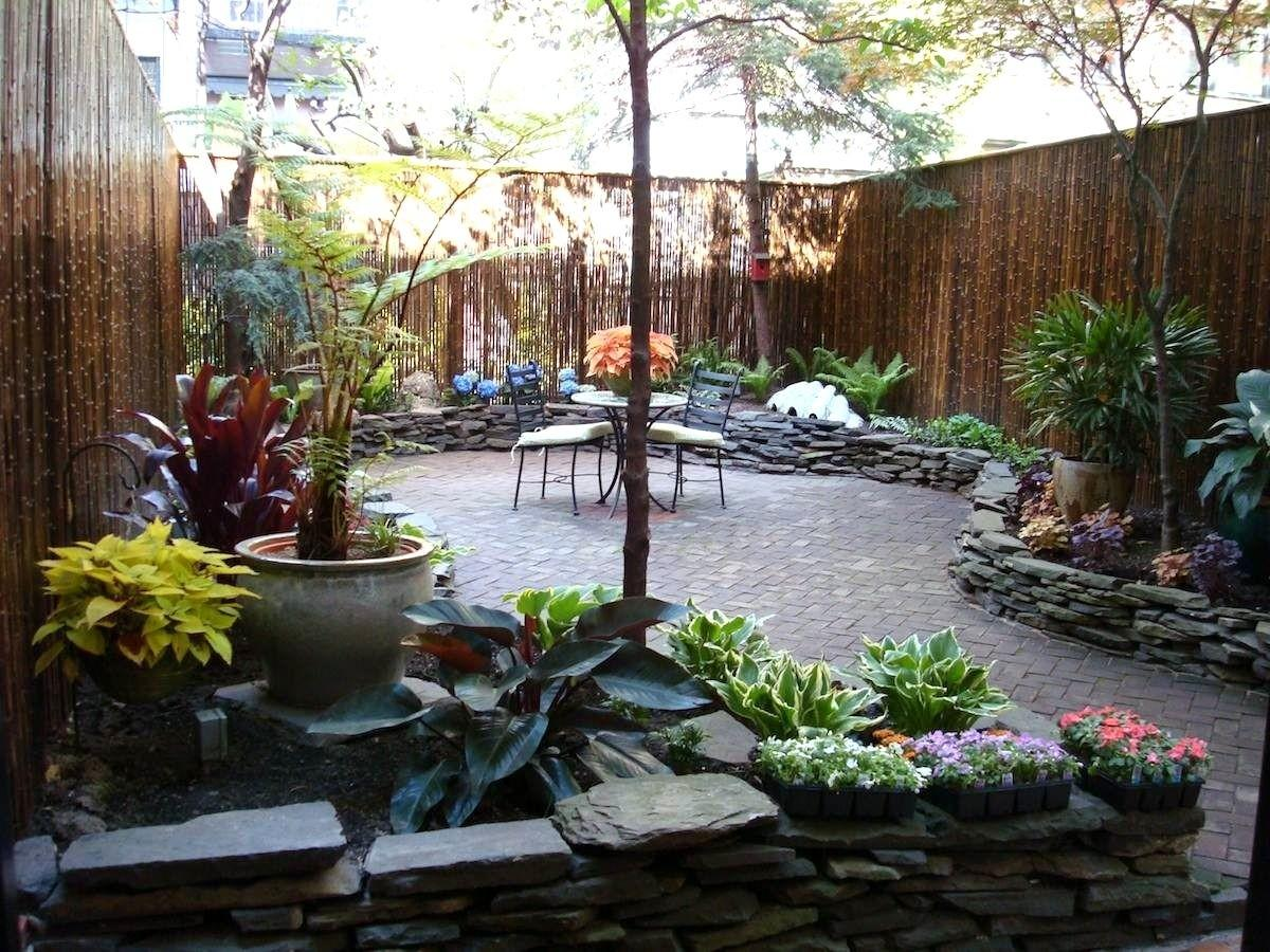 Tempting Landscape Ideas Also Small Backyards Townhouse