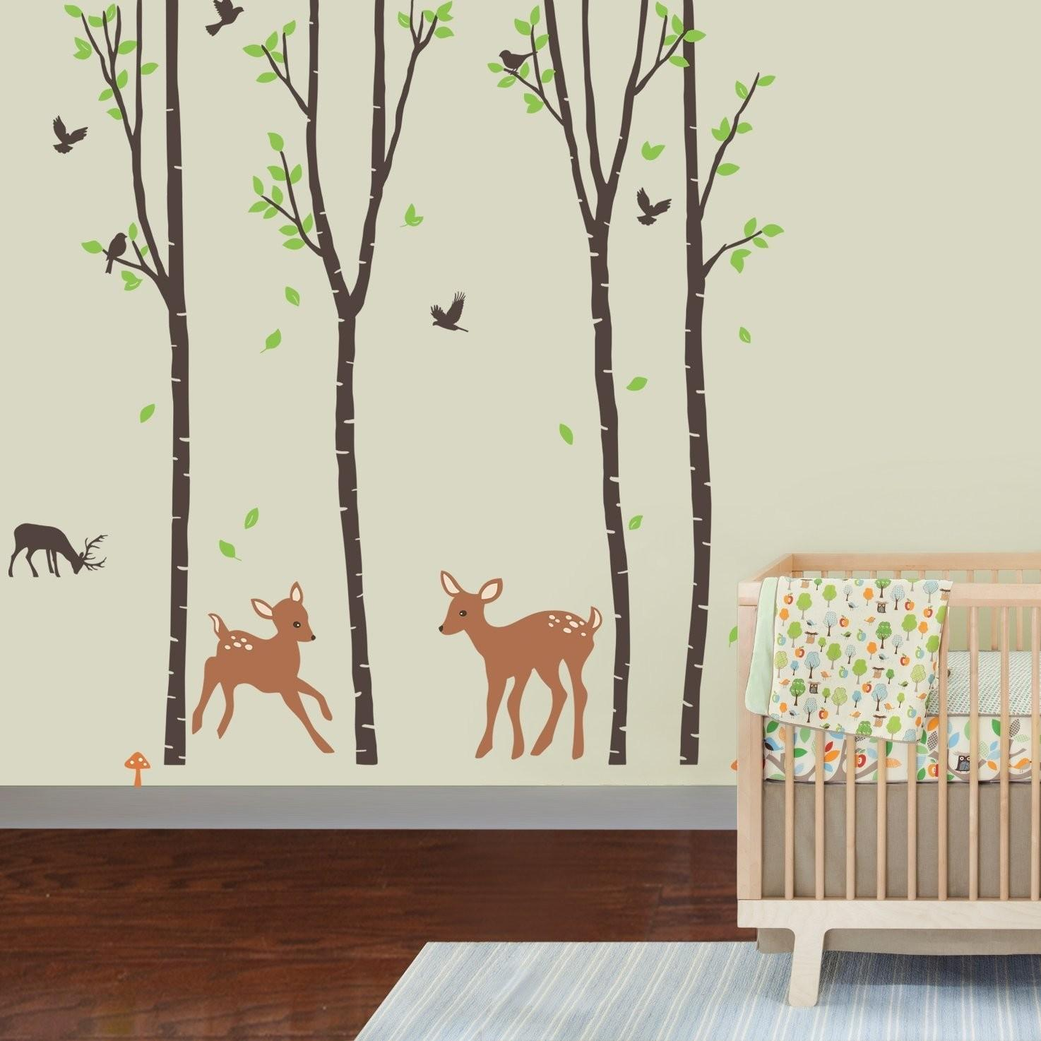 Ten Beautiful Tree Wall Decals Small Apartment