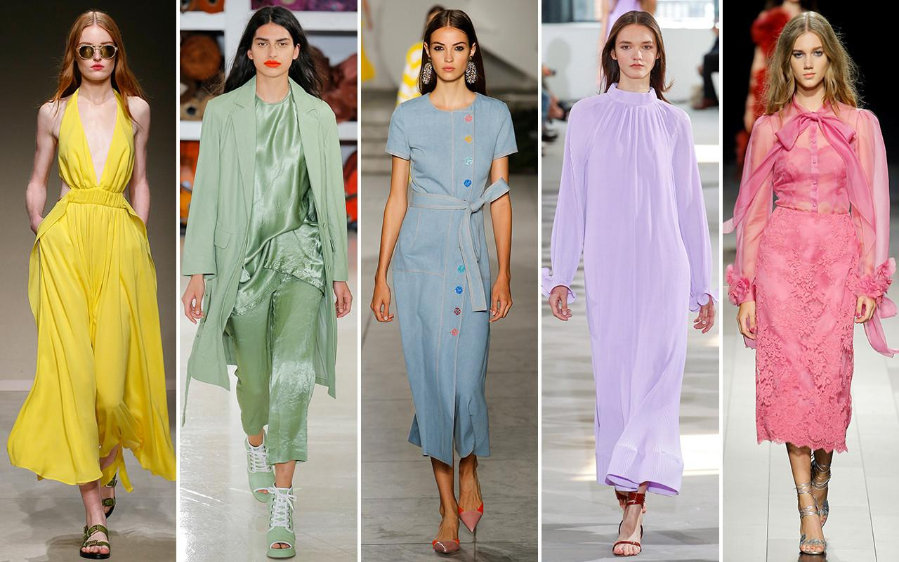 Ten Color Trends Spring Summer 2018