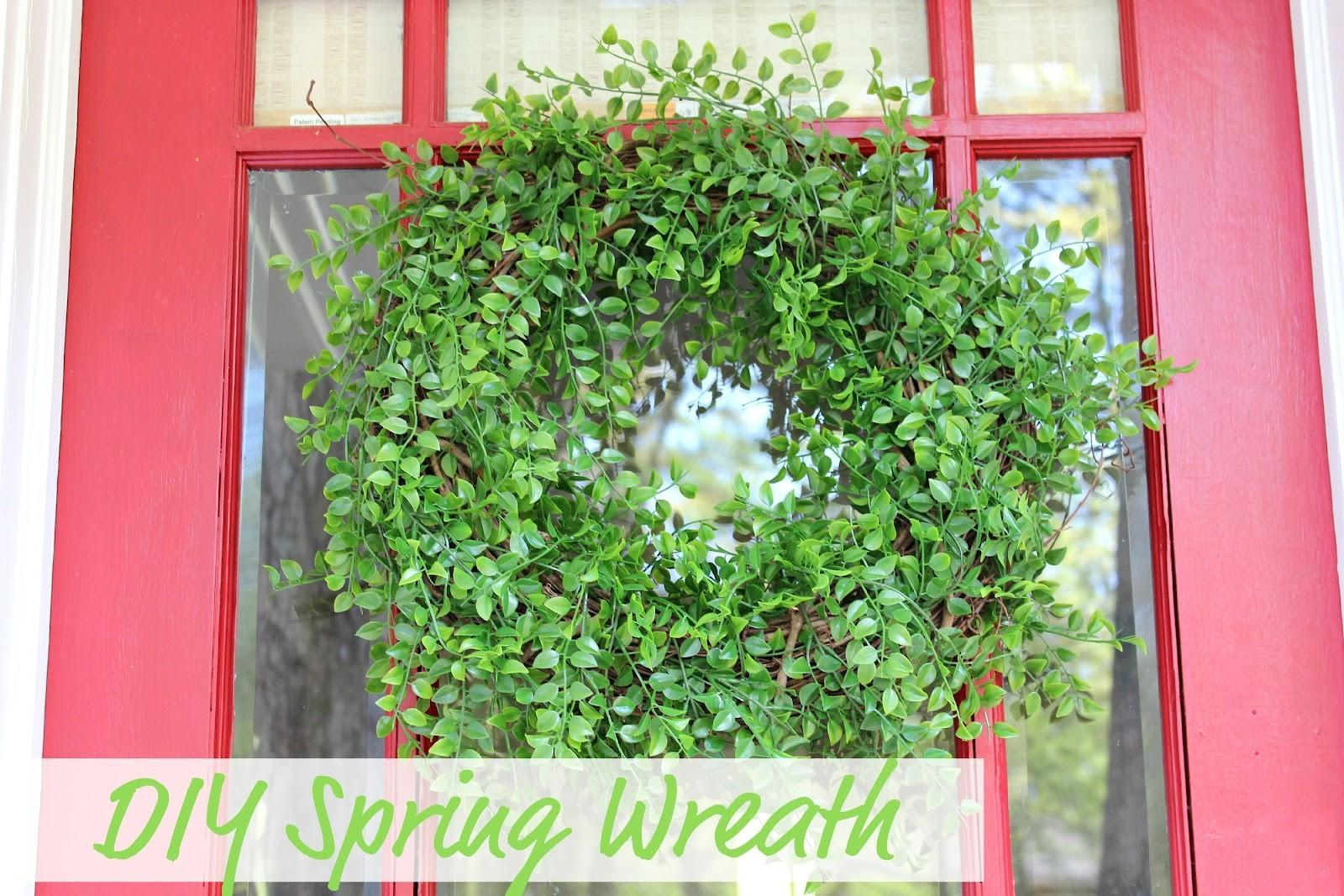 Ten June Diy Spring Wreath