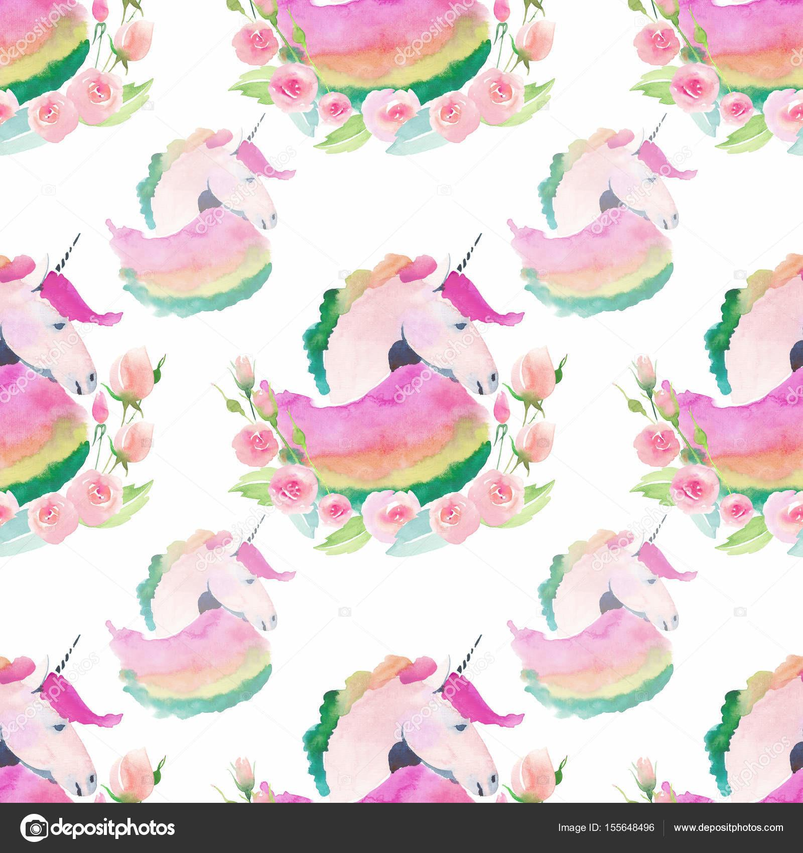 Tender Gentle Pastel Lovely Cute Fairy Magical Pattern