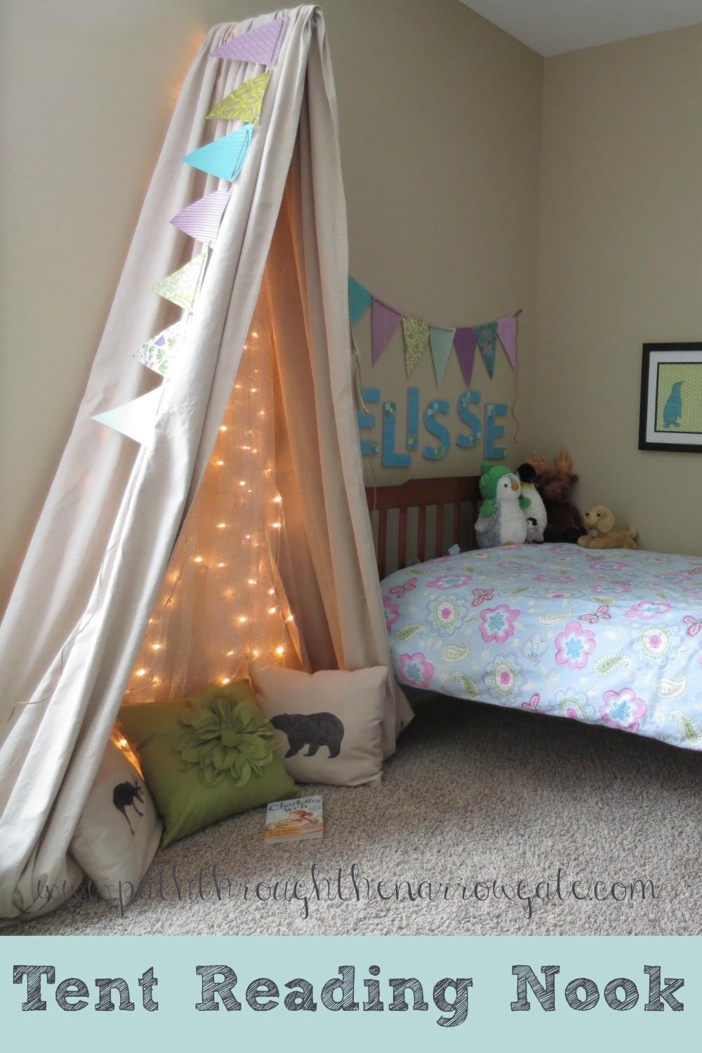 Tent Reading Nook Small Space