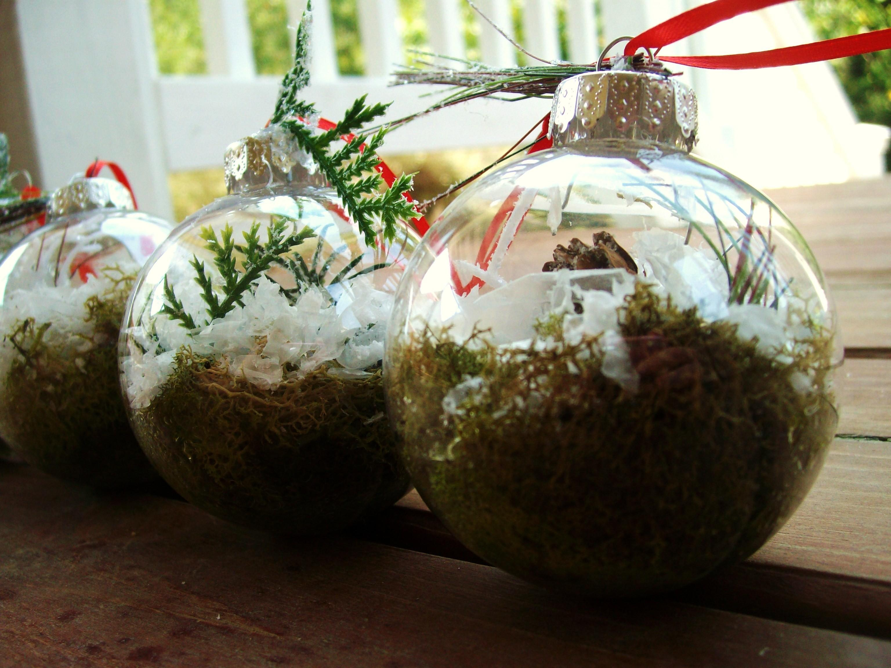 Terrarium Christmas Ornaments Diy Crafting Tutorial