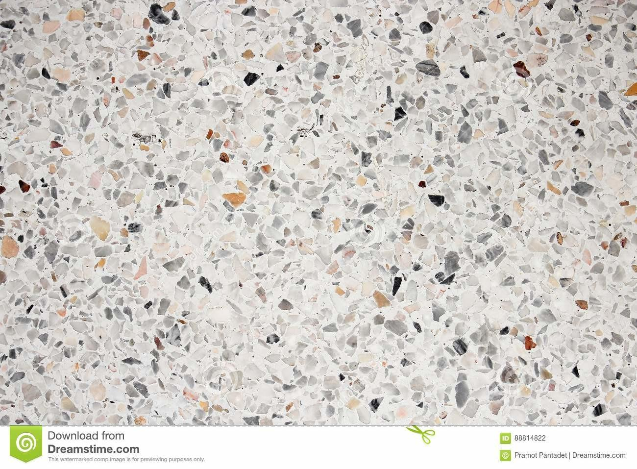 Terrazzo Floor Texture Polished Stone Pattern Wall