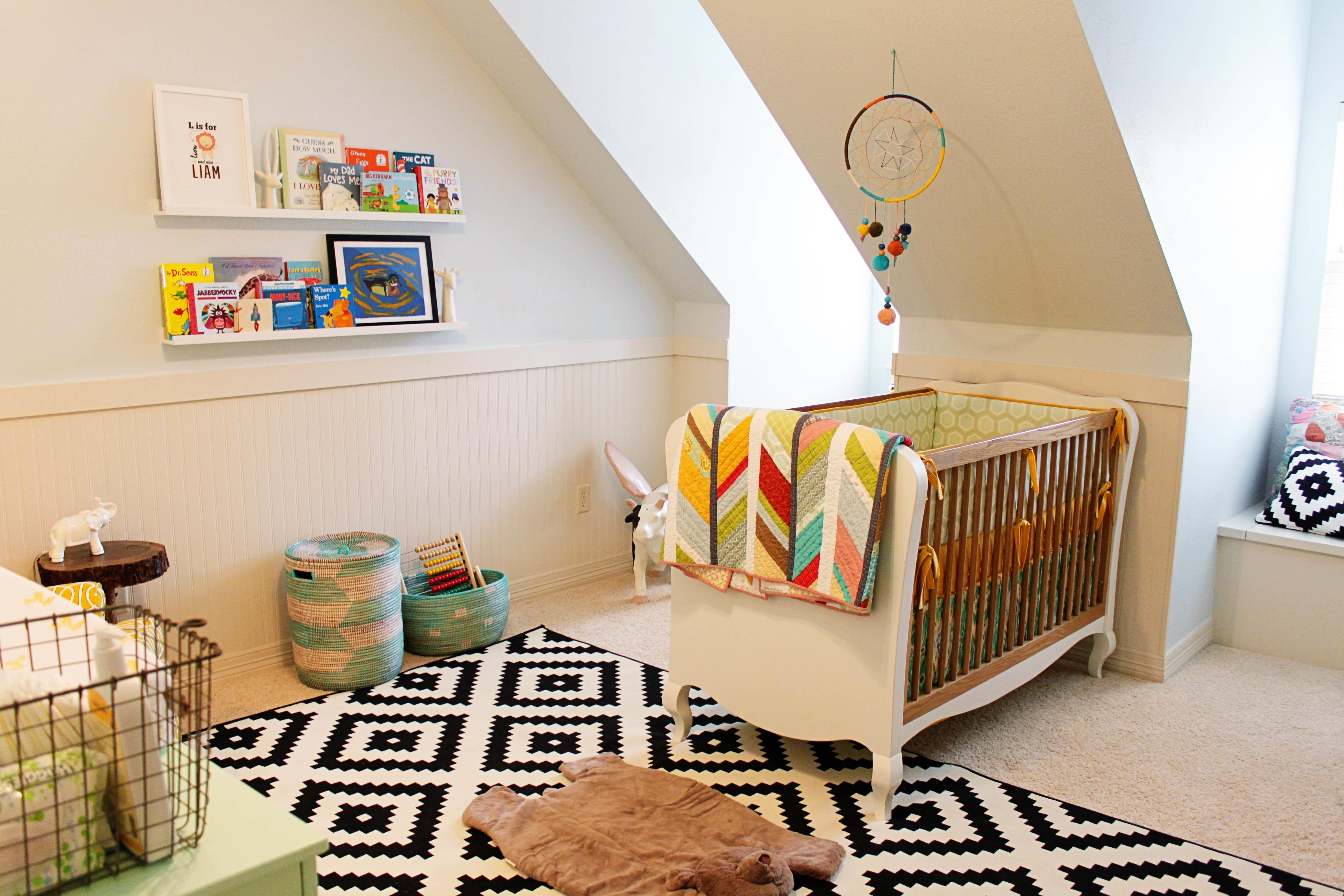 Terrific Attic Baby Bedroom Unisex Furniture Design
