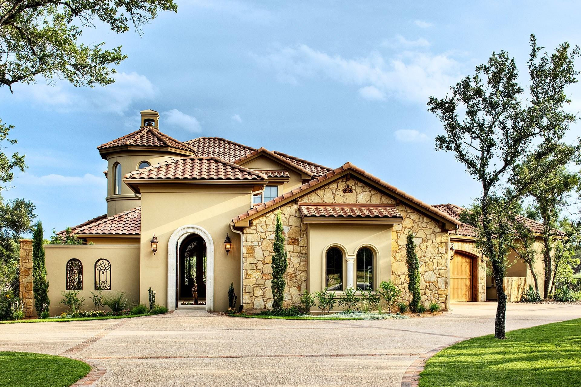 Texas Tuscan 4125 Sterling Custom Homes