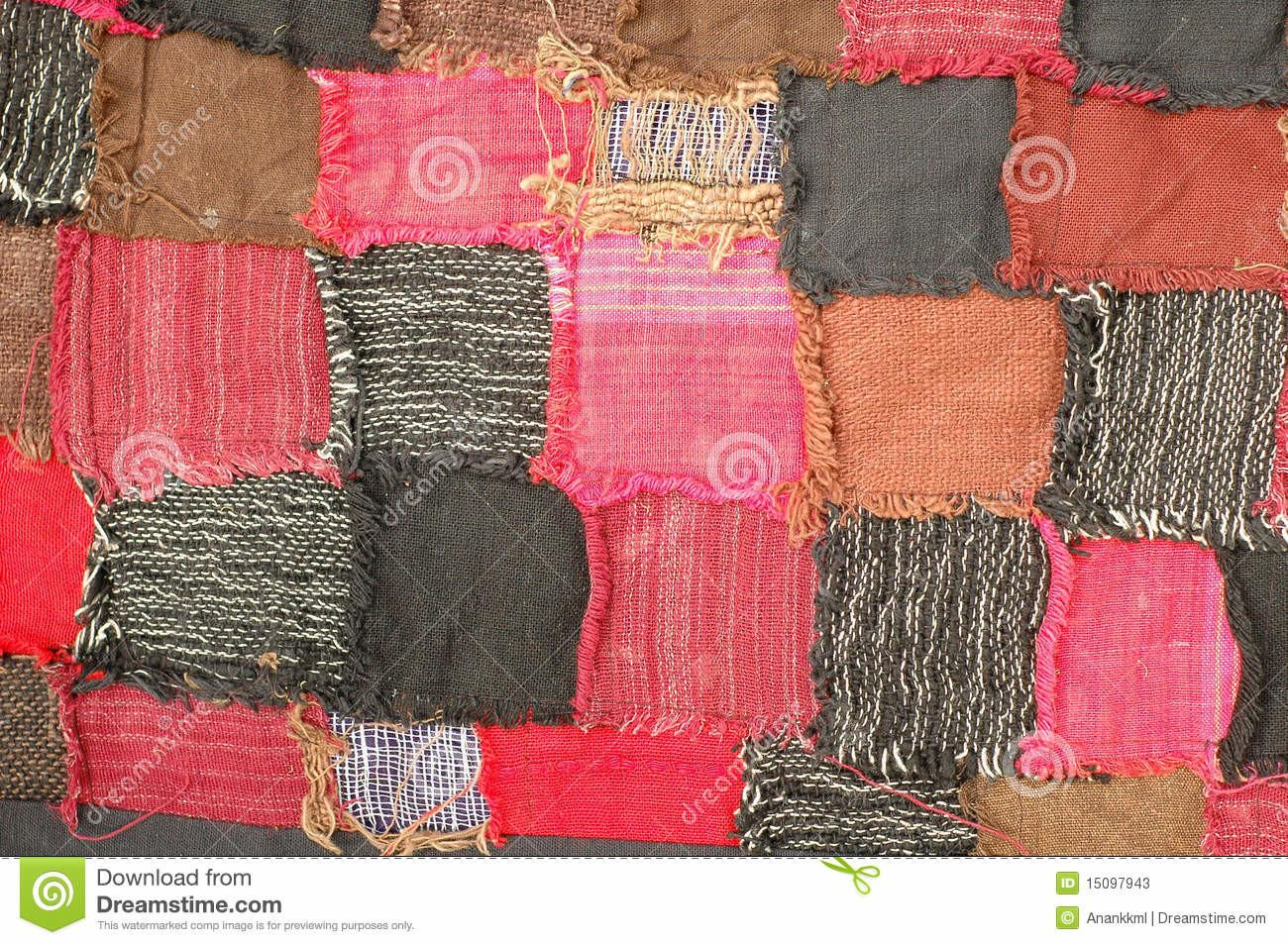 Texture Bed Cover Stock Photos