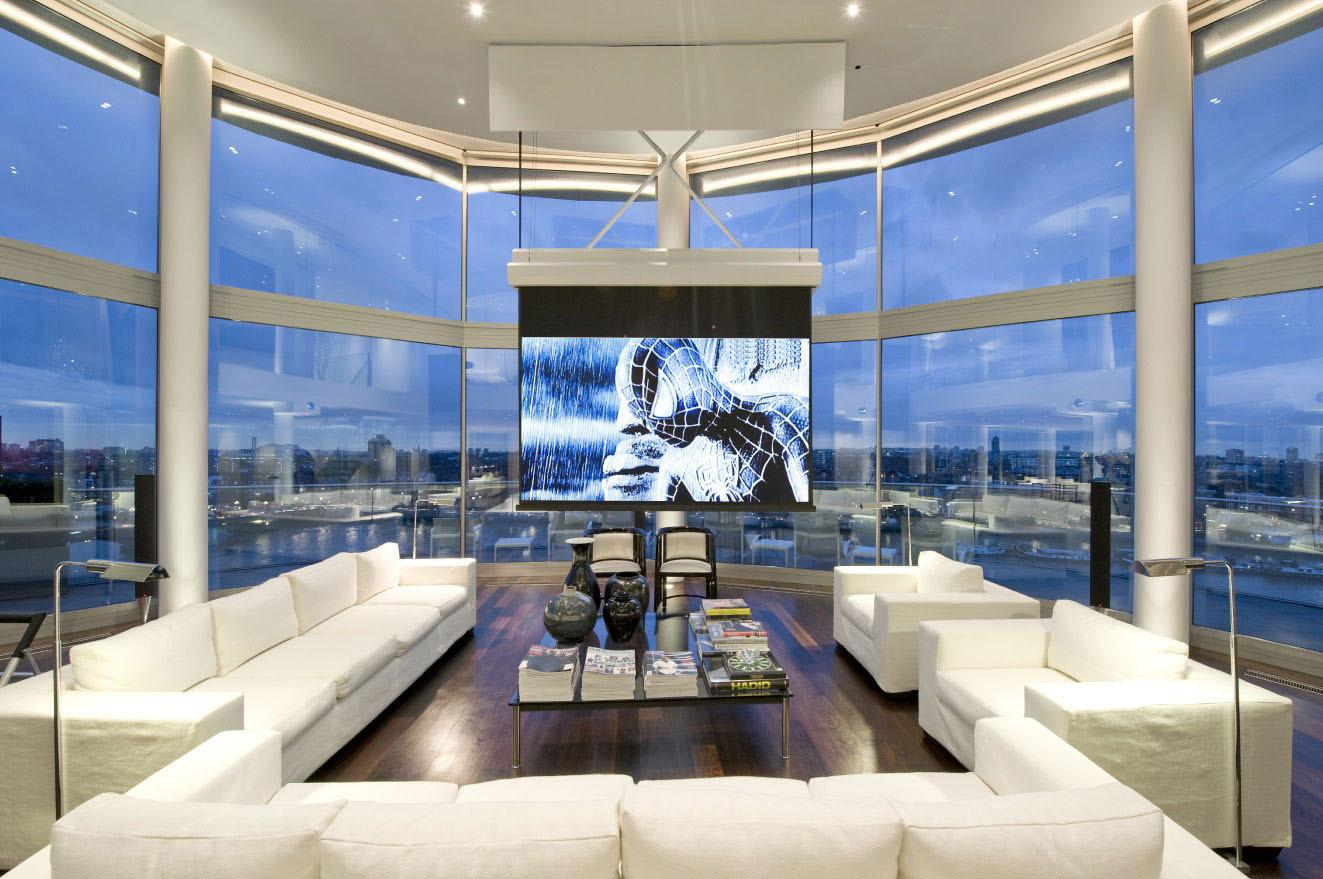 Thames Riverside Luxury Penthouse Apartment Decor Advisor