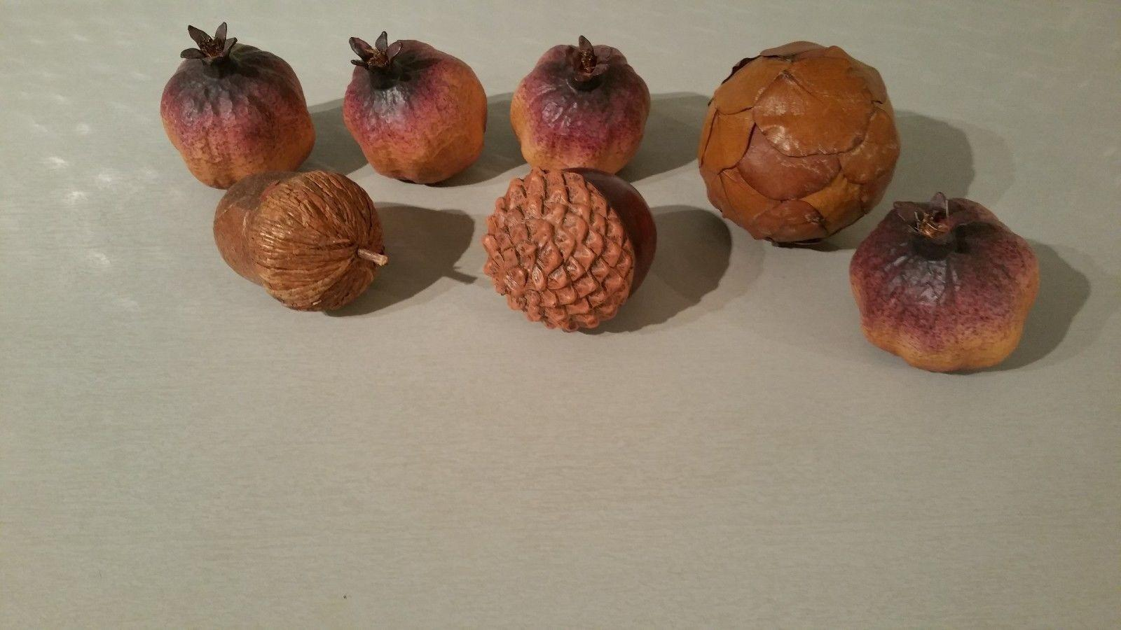 Thanksgiving Autumn Fall Decorations Natural Style Acorn