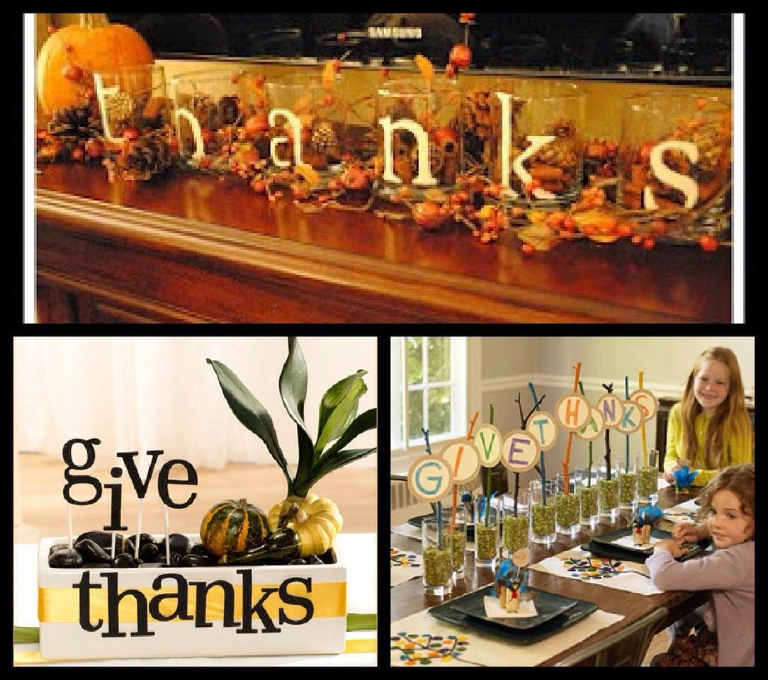 Thanksgiving Center Piece Musely