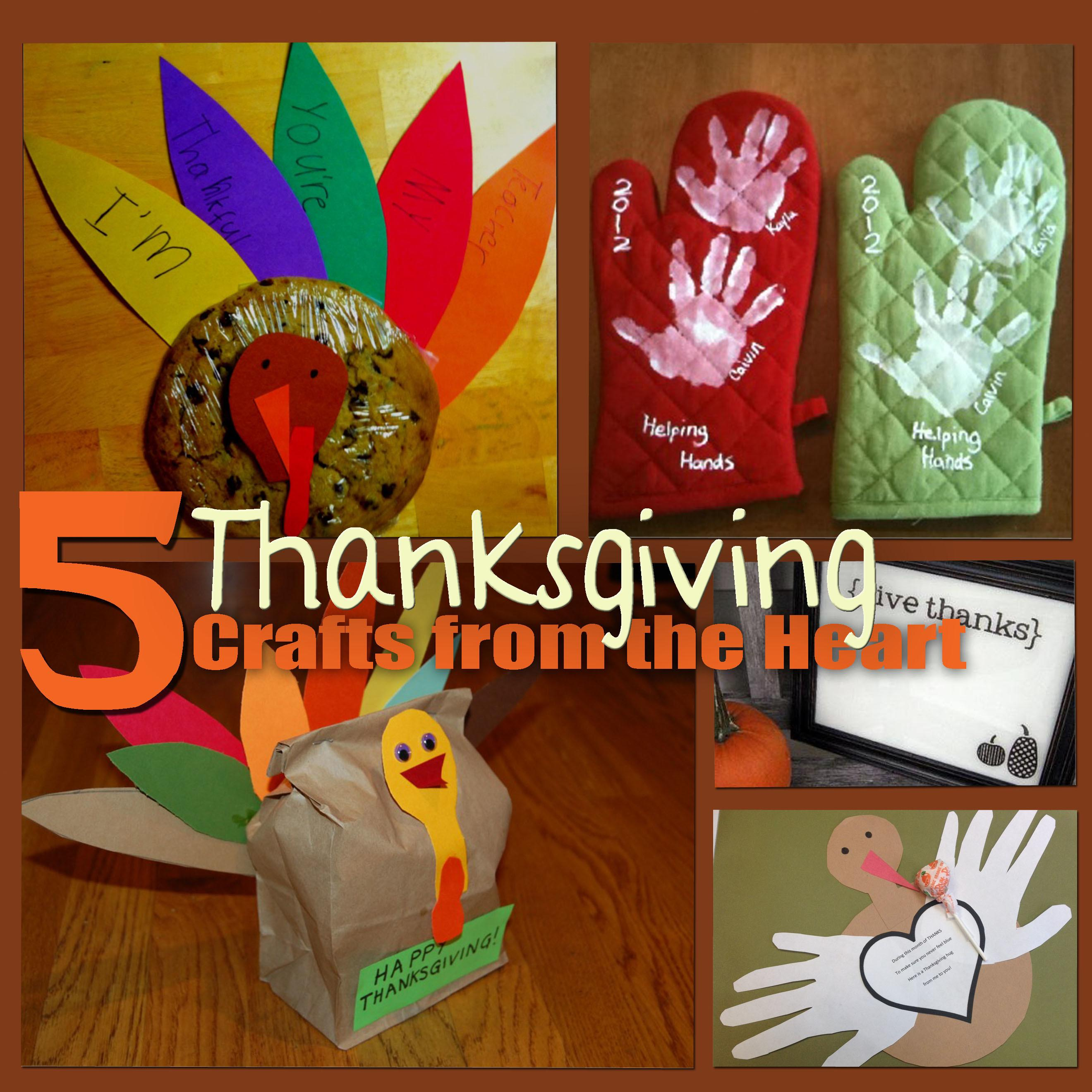 Thanksgiving Crafts Heart Parents Blog