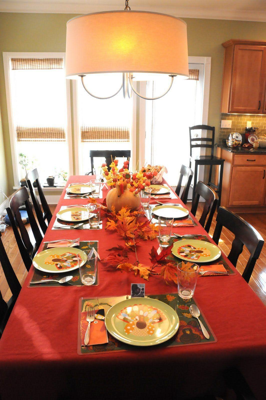 Thanksgiving Decor Holiday Decorating