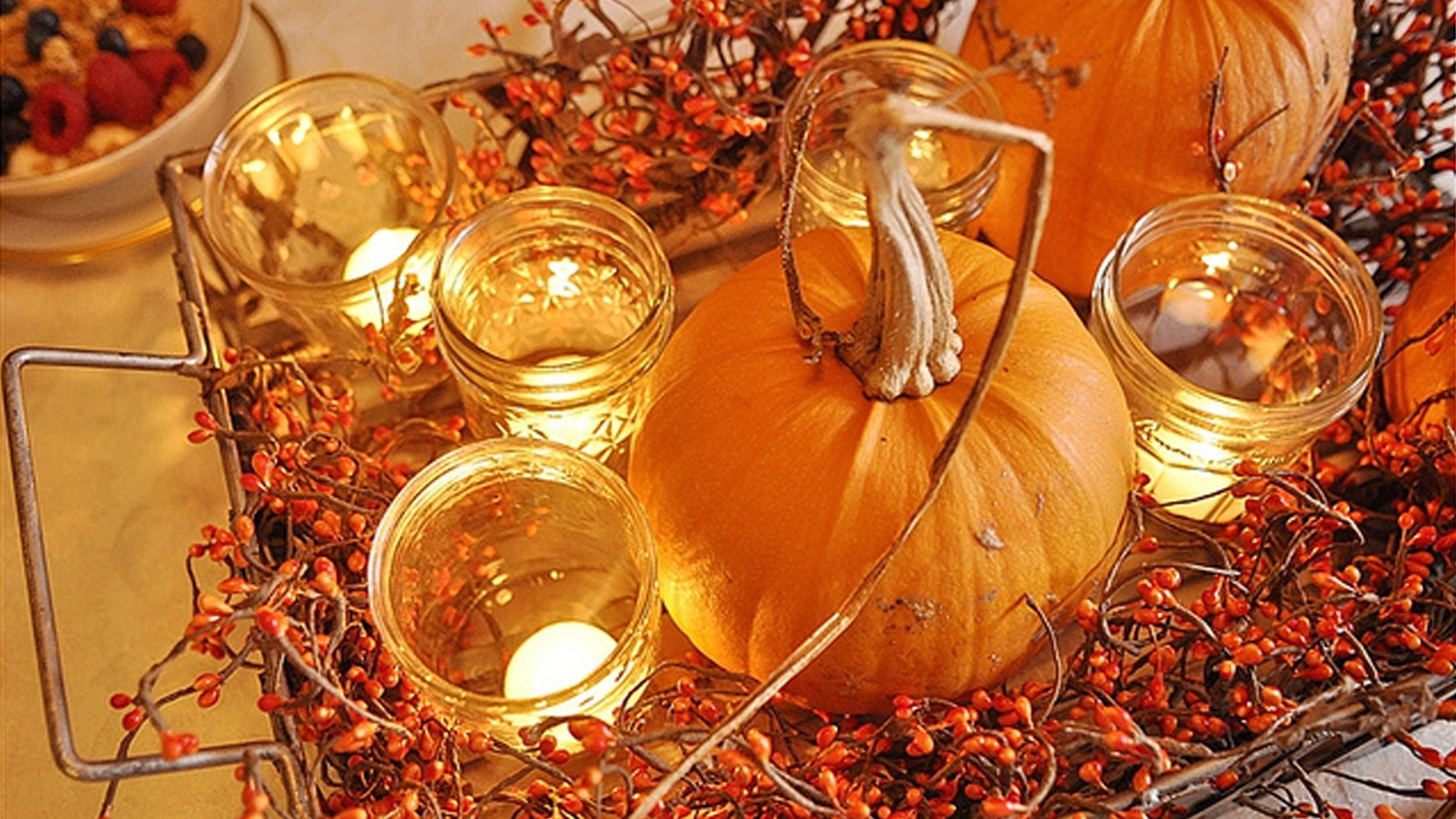 Thanksgiving Decorations Diy Pumpkin Centerpieces