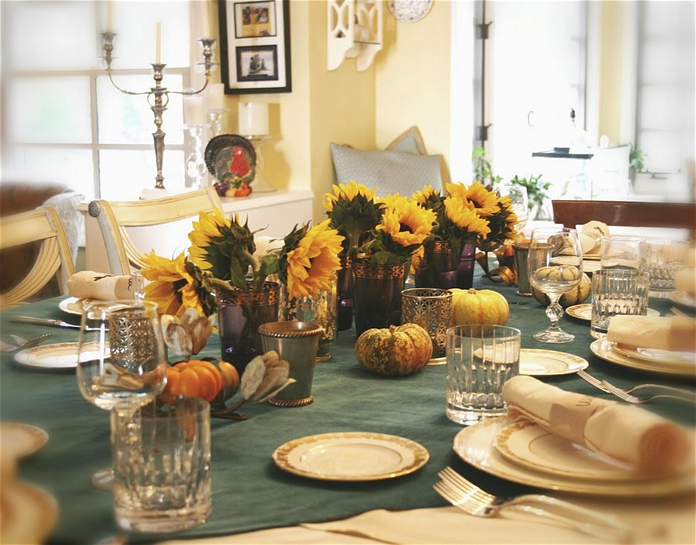 Thanksgiving Dining Decor Ideas Come Diy Softdrinks