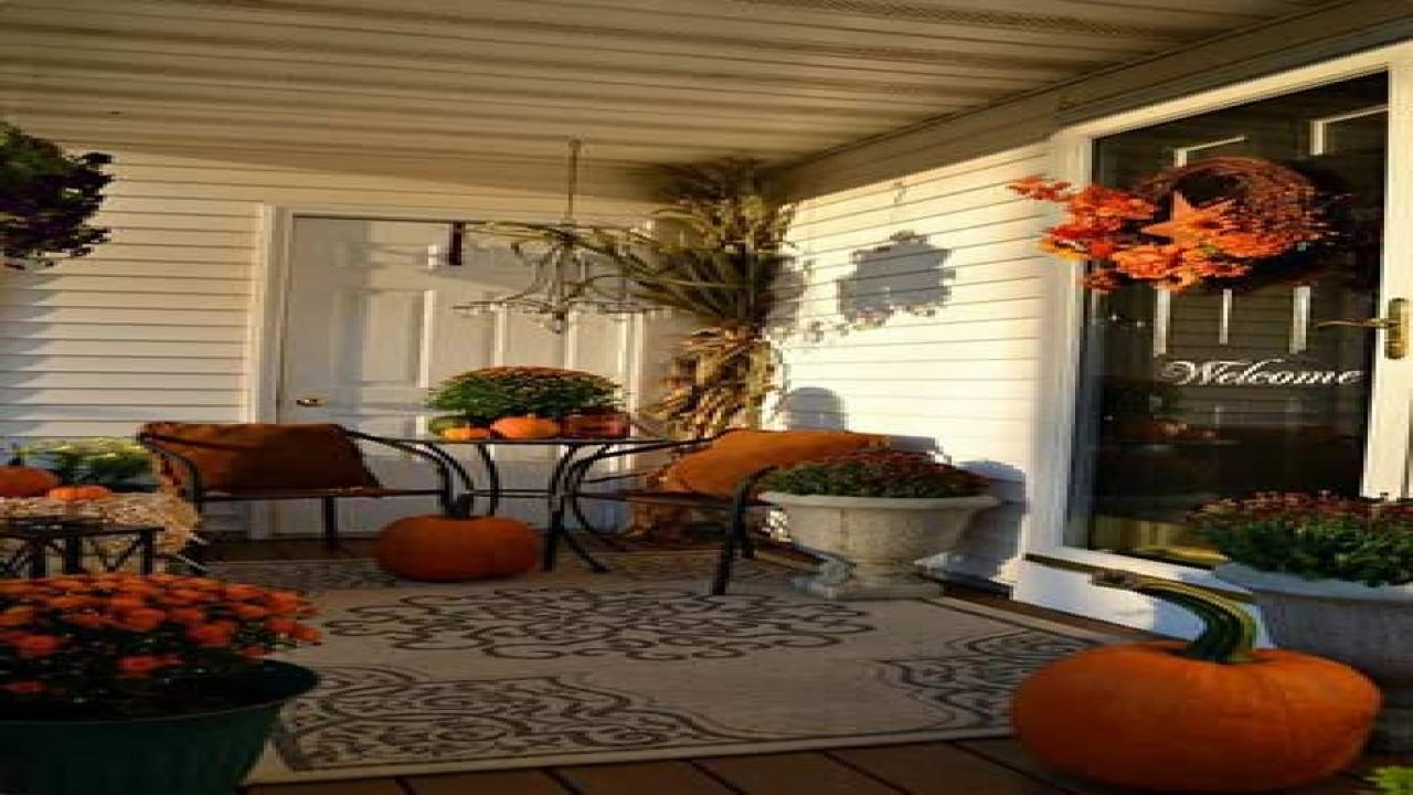 Thanksgiving Door Decor Fall Porch Decorating Ideas