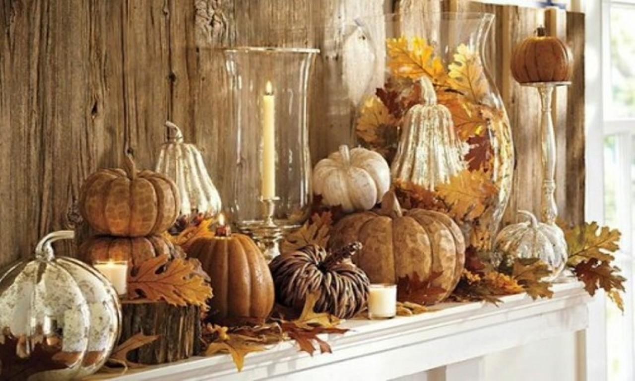 Thanksgiving Fireplace Decorations Pottery Barn Fall