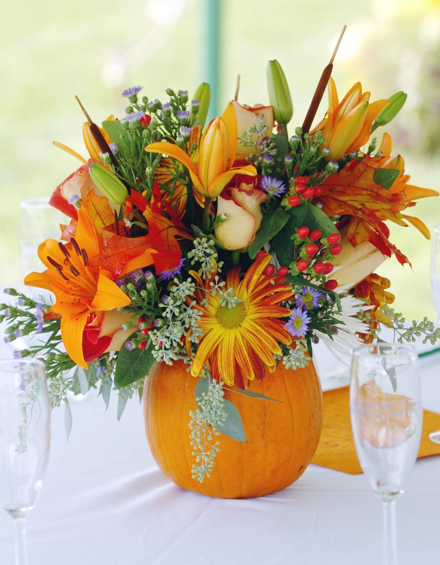 Thanksgiving Floral Centerpieces