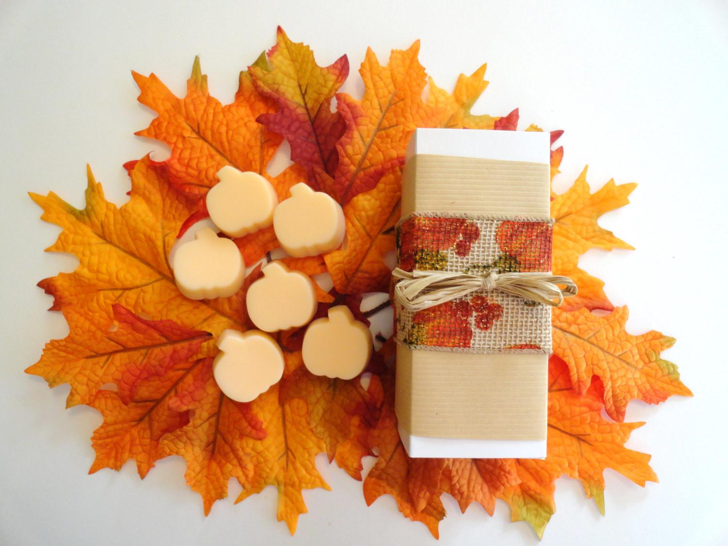 Thanksgiving Hostess Gift Fall Theme Set Handcrafted