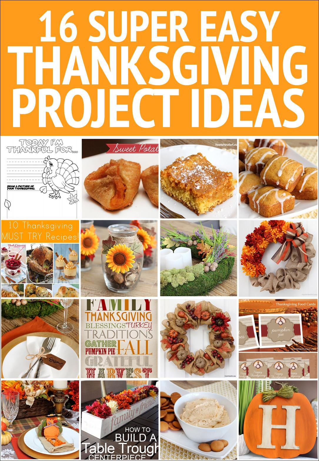 Thanksgiving Project Ideas Nest Less