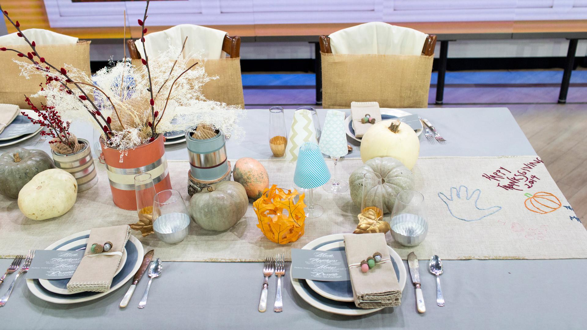 Thanksgiving Table Decor Ideas Adult Kids