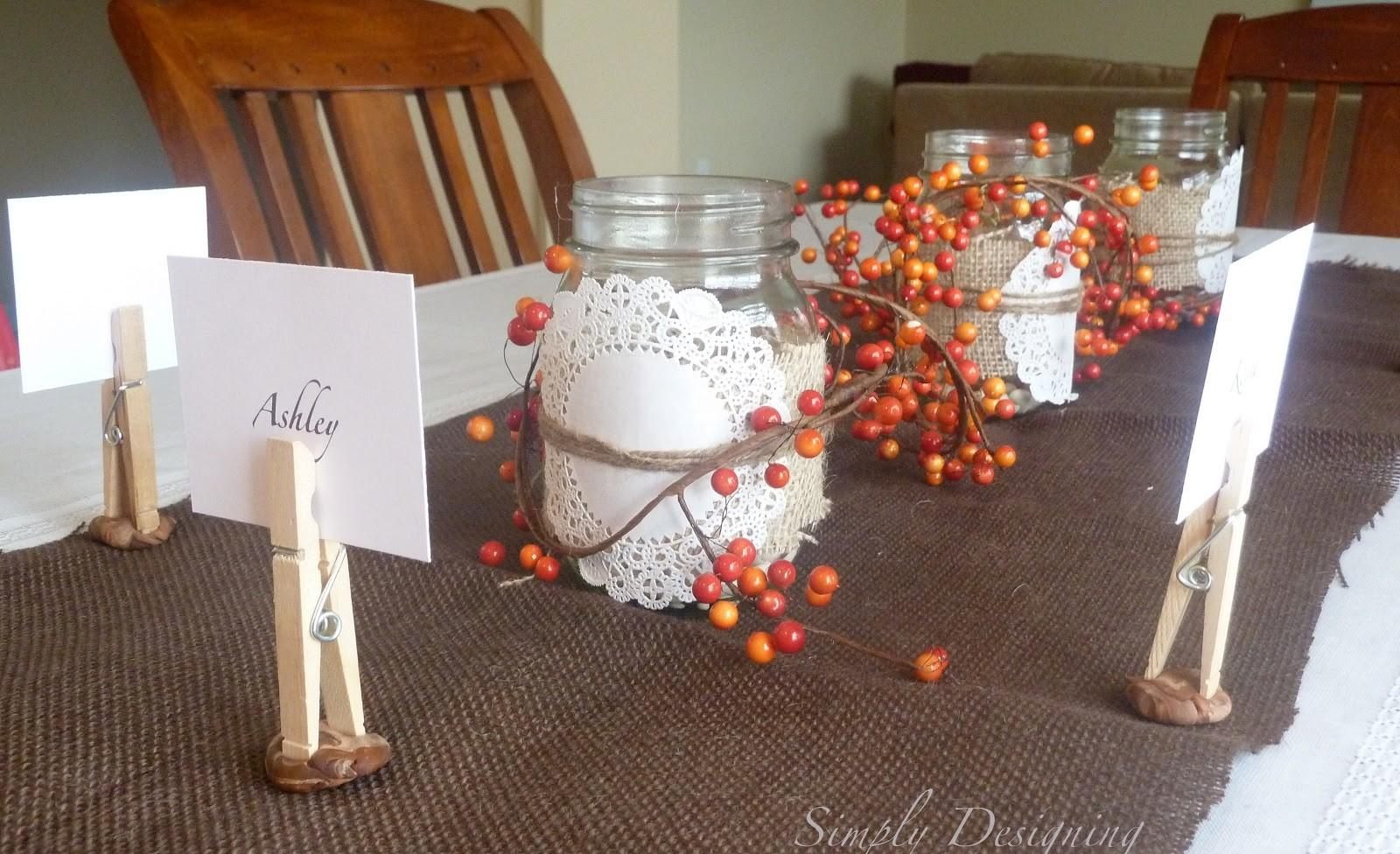 Thanksgiving Table Decor Plus Video